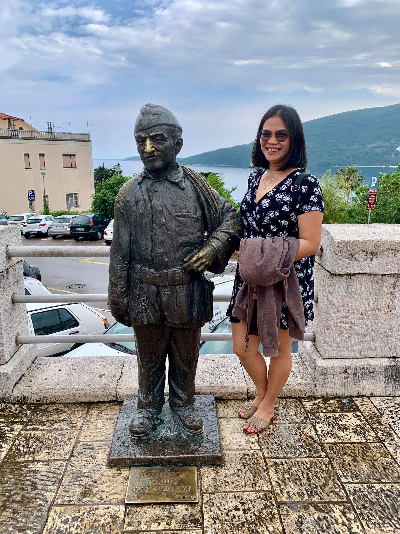 Expat Life in Montenegro Day 3 We have our first visitor already in our new home here in Herceg Novi14.jpg