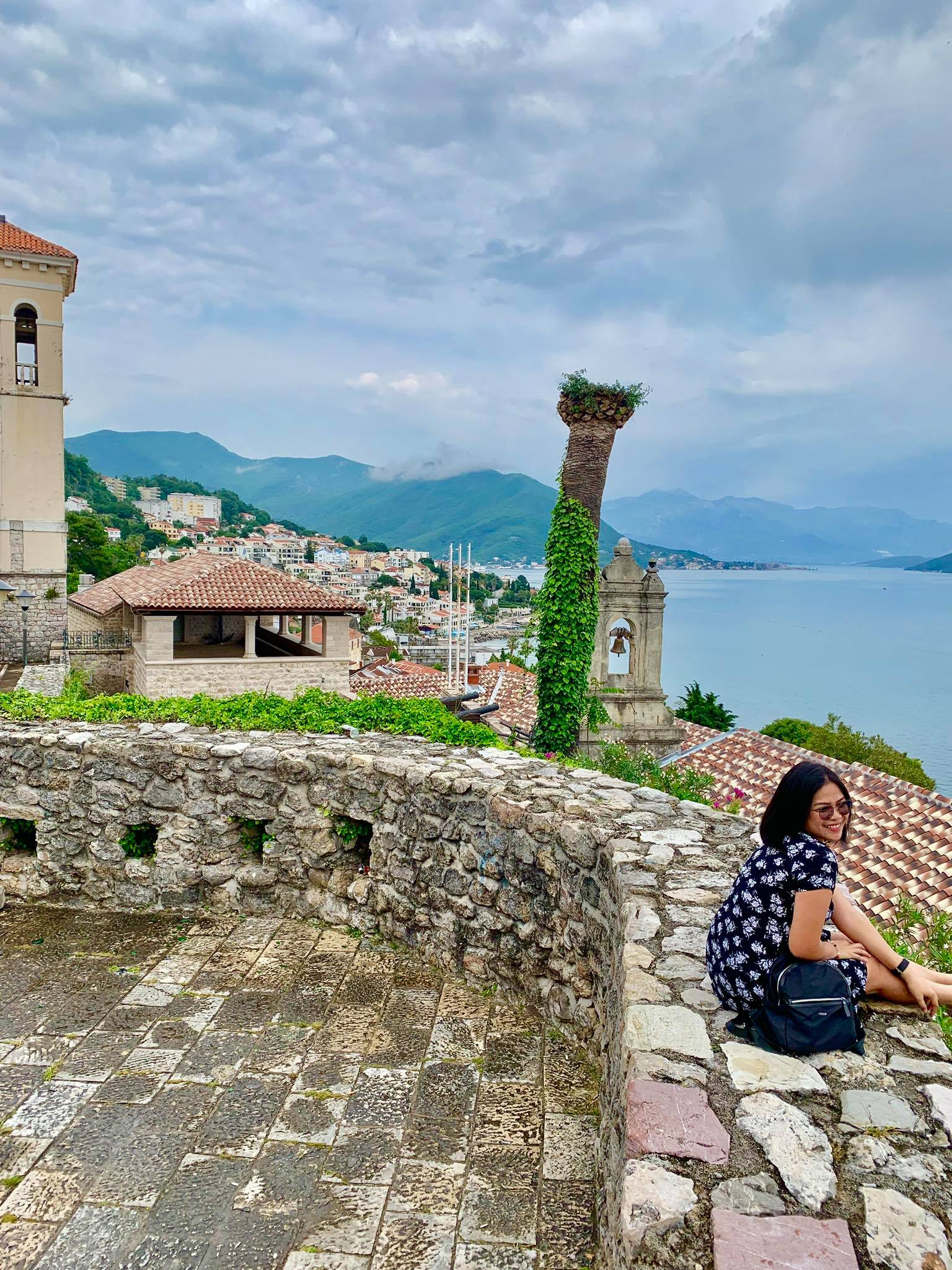 Expat Life in Montenegro Day 3 We have our first visitor already in our new home here in Herceg Novi15.jpg