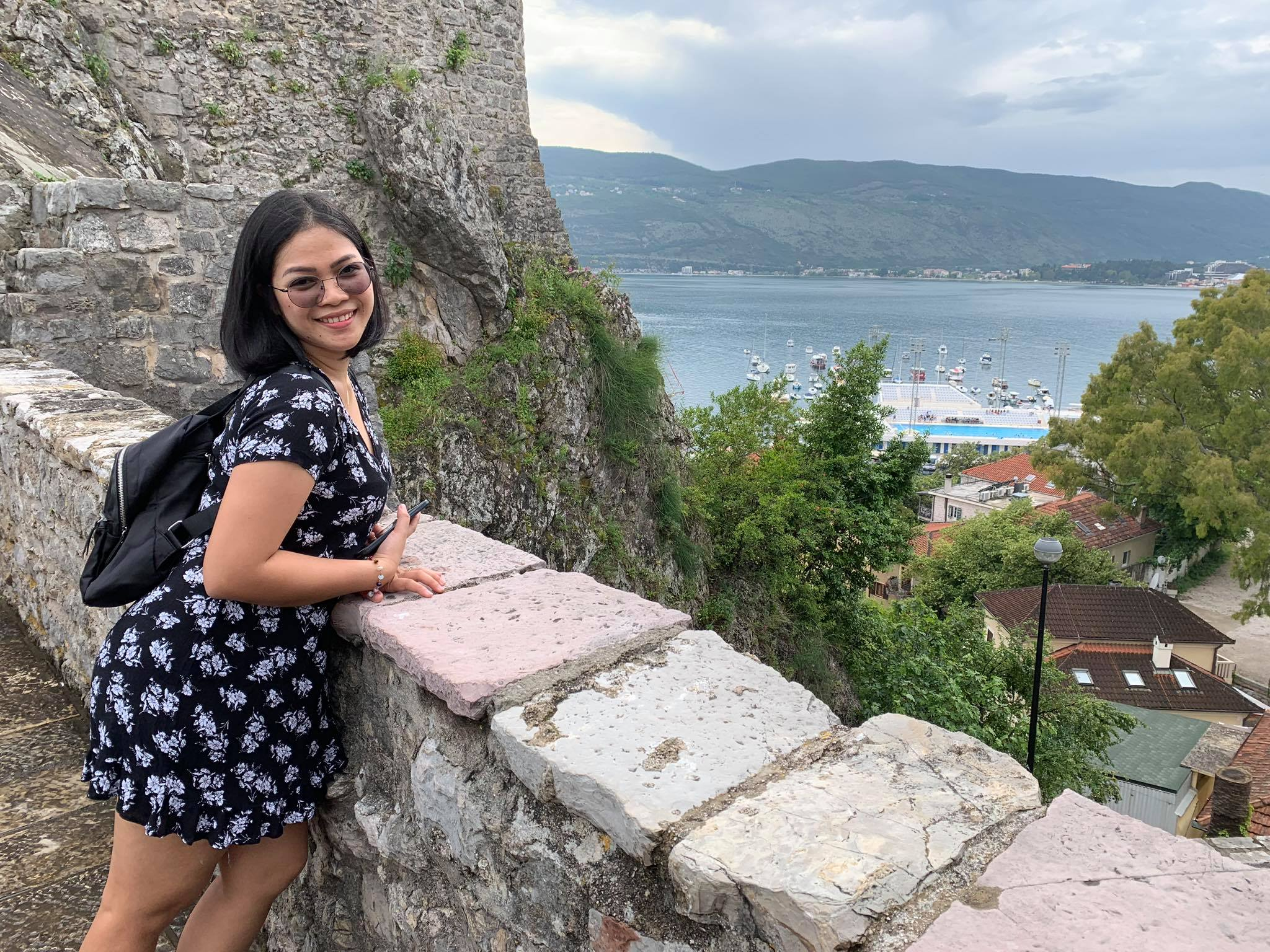 Expat Life in Montenegro Day 3 We have our first visitor already in our new home here in Herceg Novi10.jpg