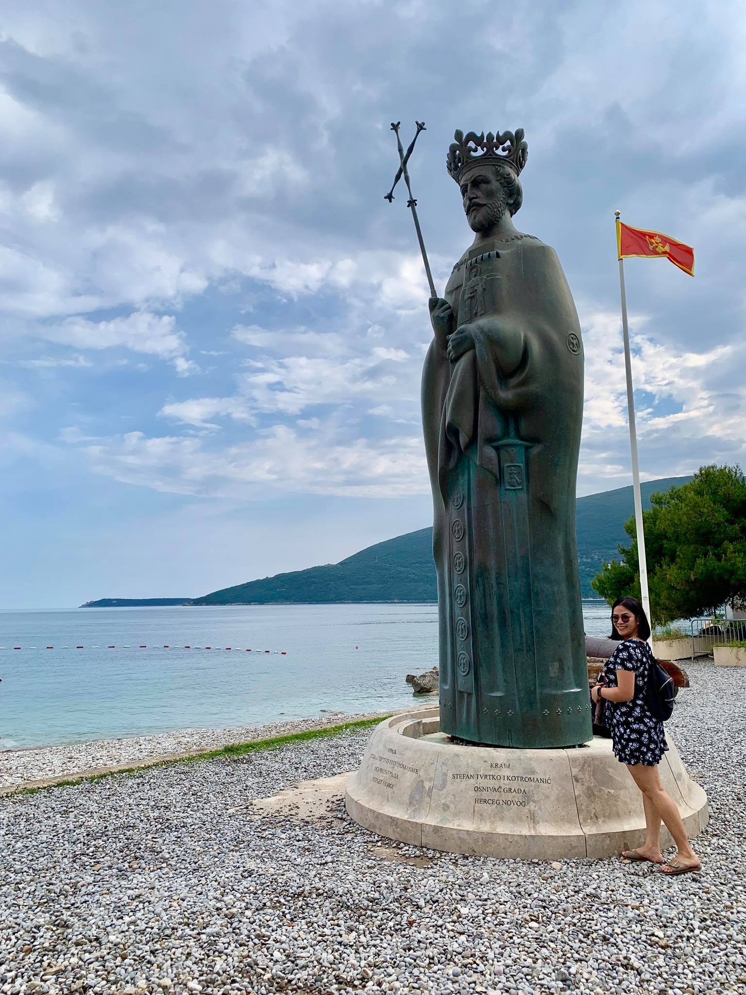 Expat Life in Montenegro Day 3 We have our first visitor already in our new home here in Herceg Novi17.jpg