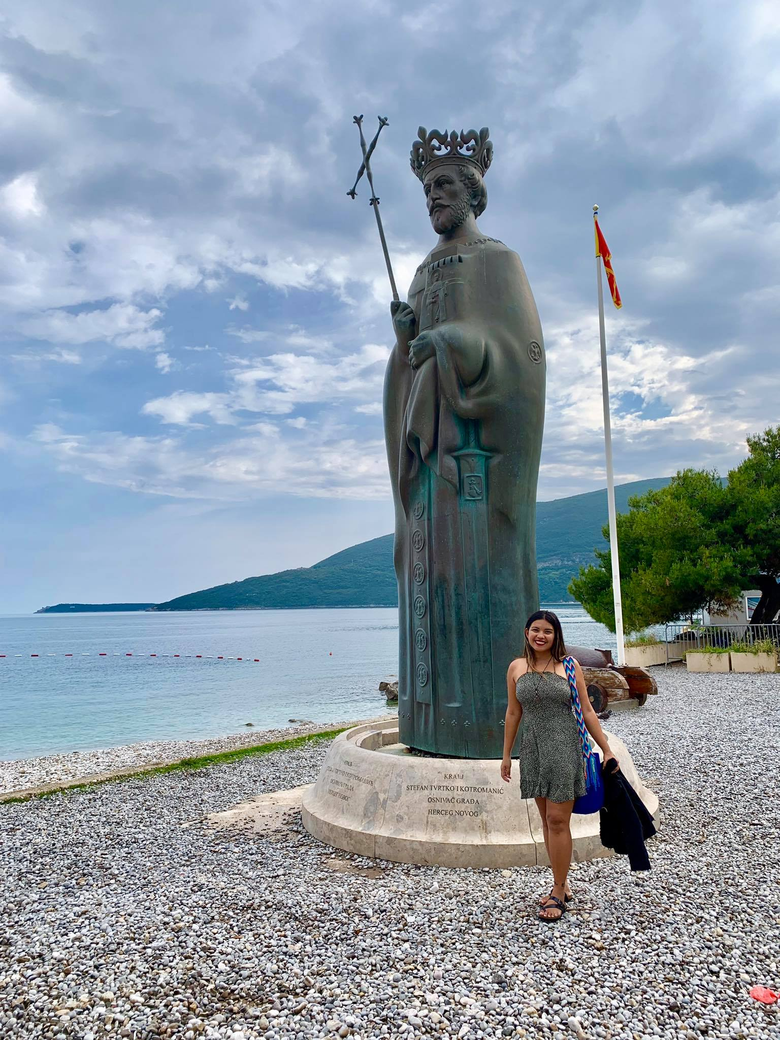 Expat Life in Montenegro Day 3 We have our first visitor already in our new home here in Herceg Novi18.jpg