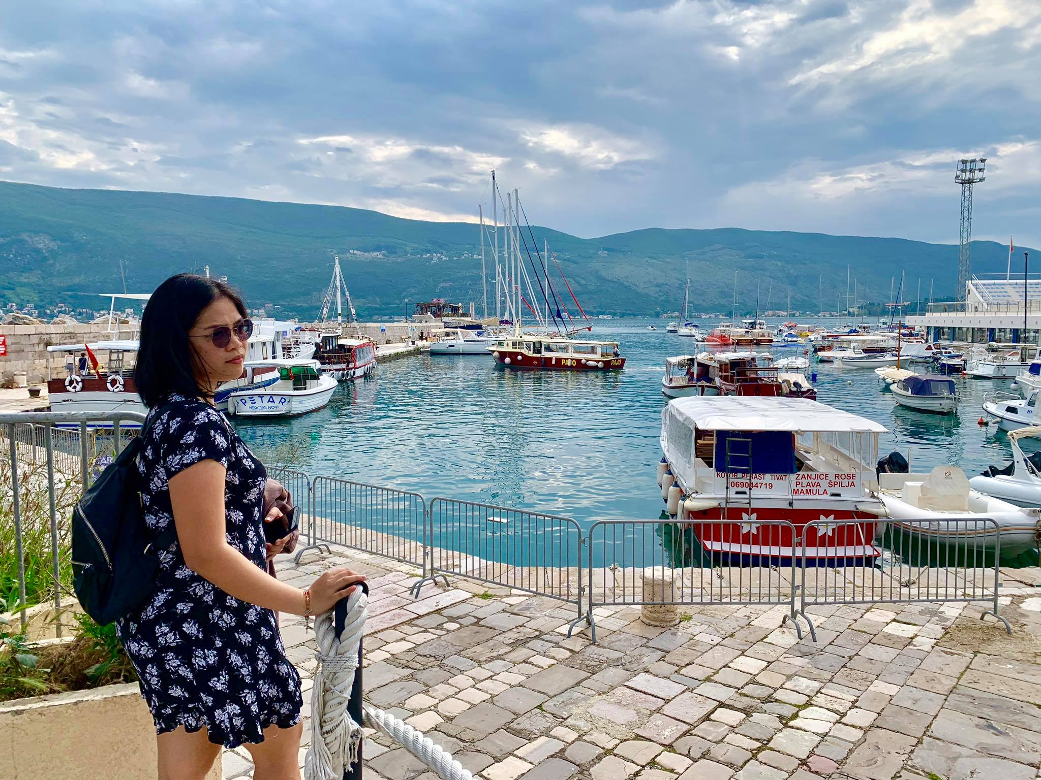 Expat Life in Montenegro Day 3 We have our first visitor already in our new home here in Herceg Novi19.jpg