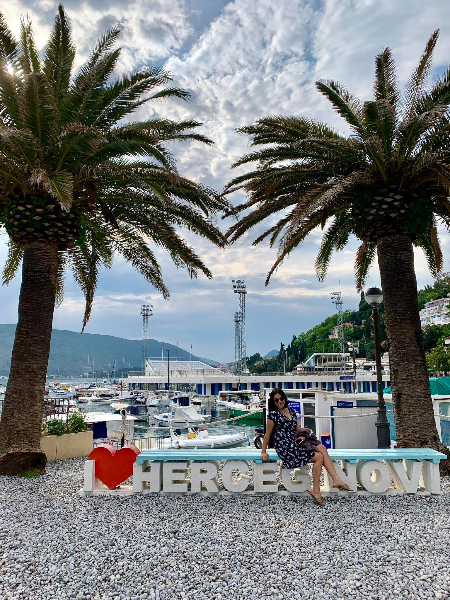 Expat Life in Montenegro Day 3 We have our first visitor already in our new home here in Herceg Novi20.jpg