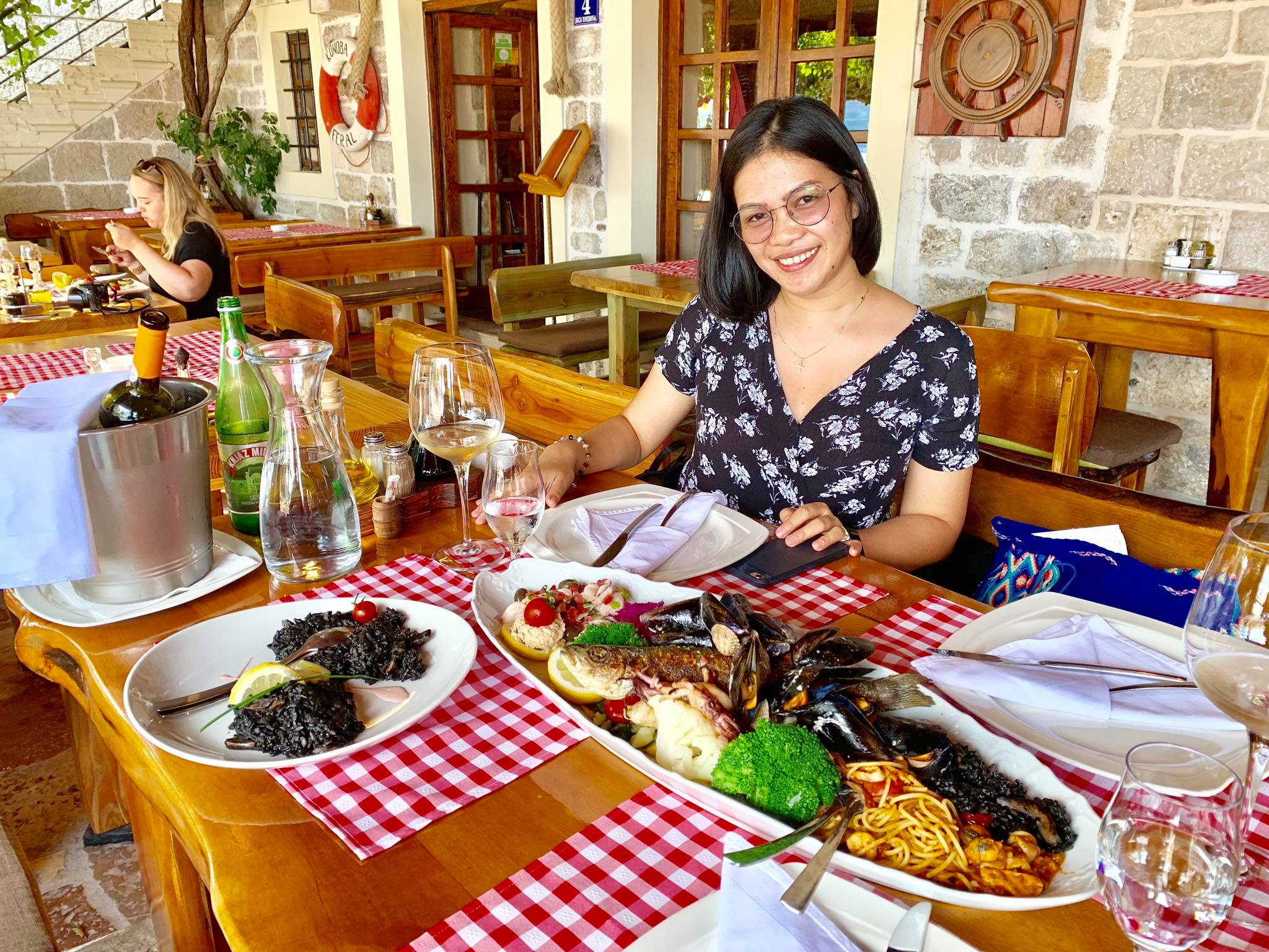 Expat Life in Montenegro Day 3 We have our first visitor already in our new home here in Herceg Novi22.jpg