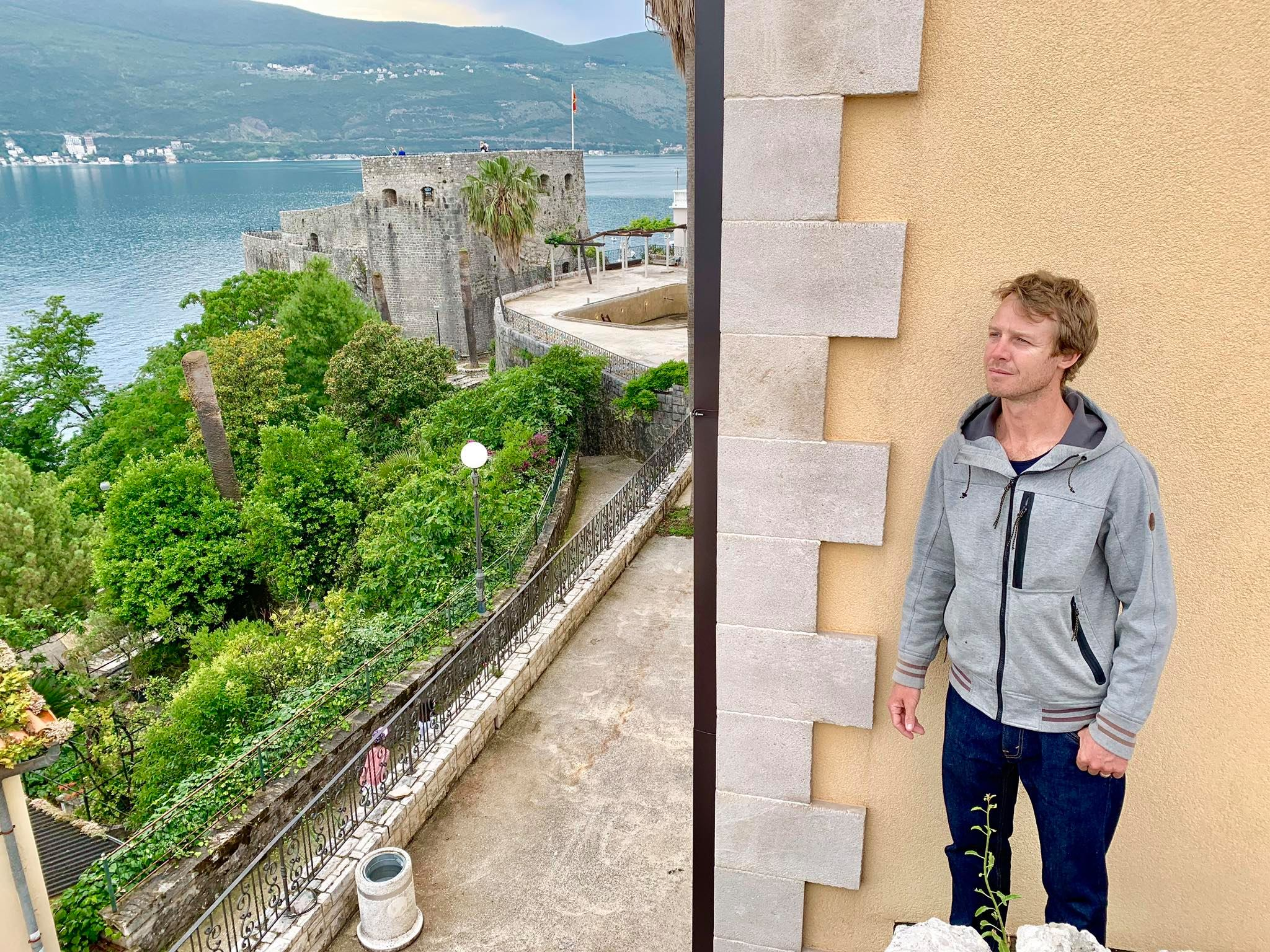 Expat Life in Montenegro Day 3 We have our first visitor already in our new home here in Herceg Novi25.jpg