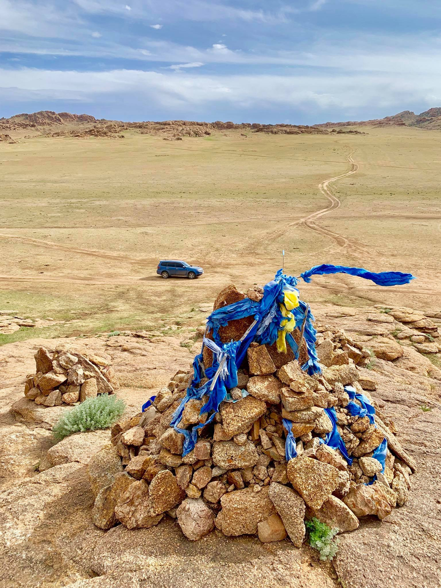 Kach Solo Travels in 2019 One of the hikes during my trip in Gobi desert3.jpg