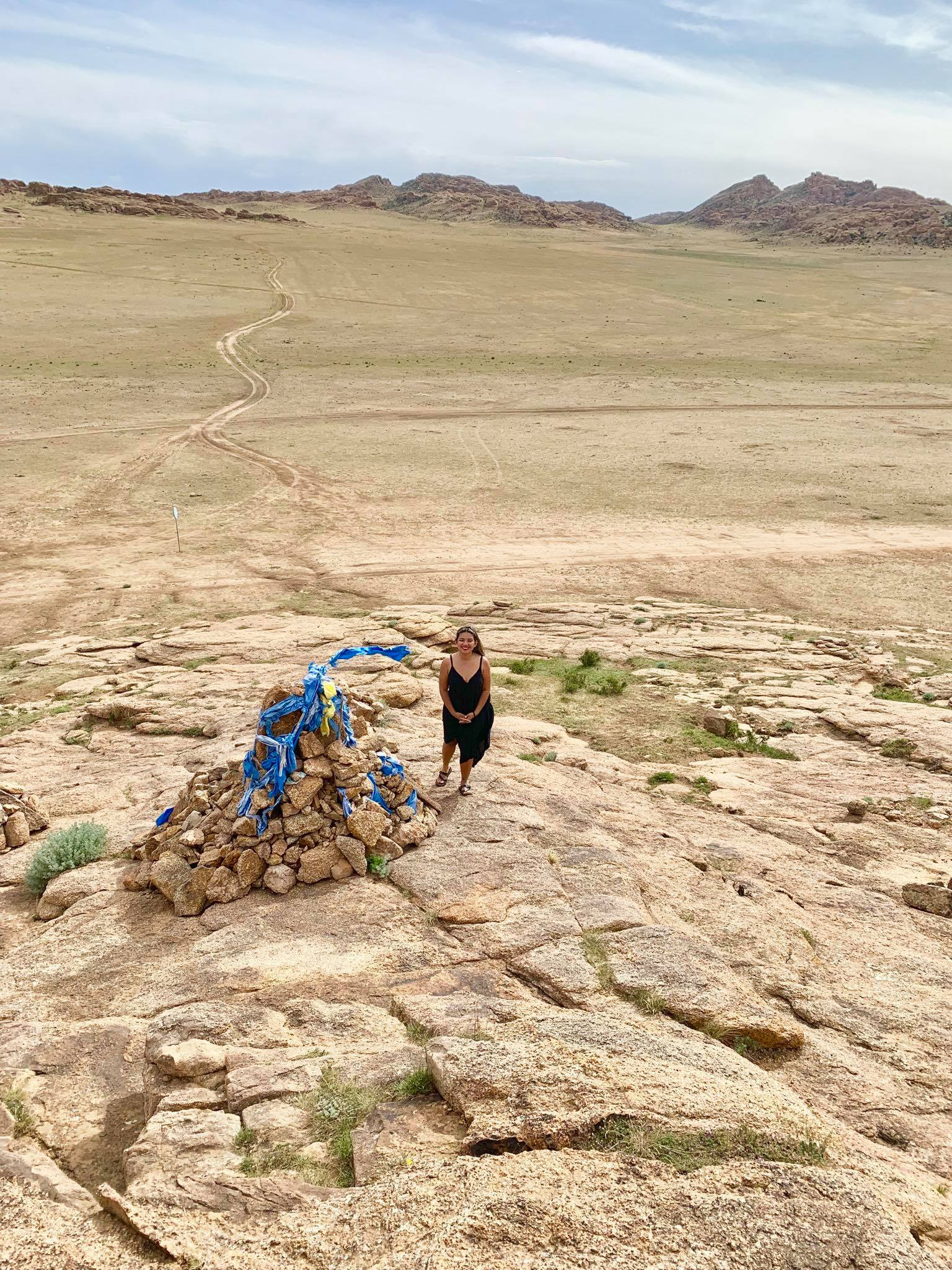 Kach Solo Travels in 2019 One of the hikes during my trip in Gobi desert2.jpg