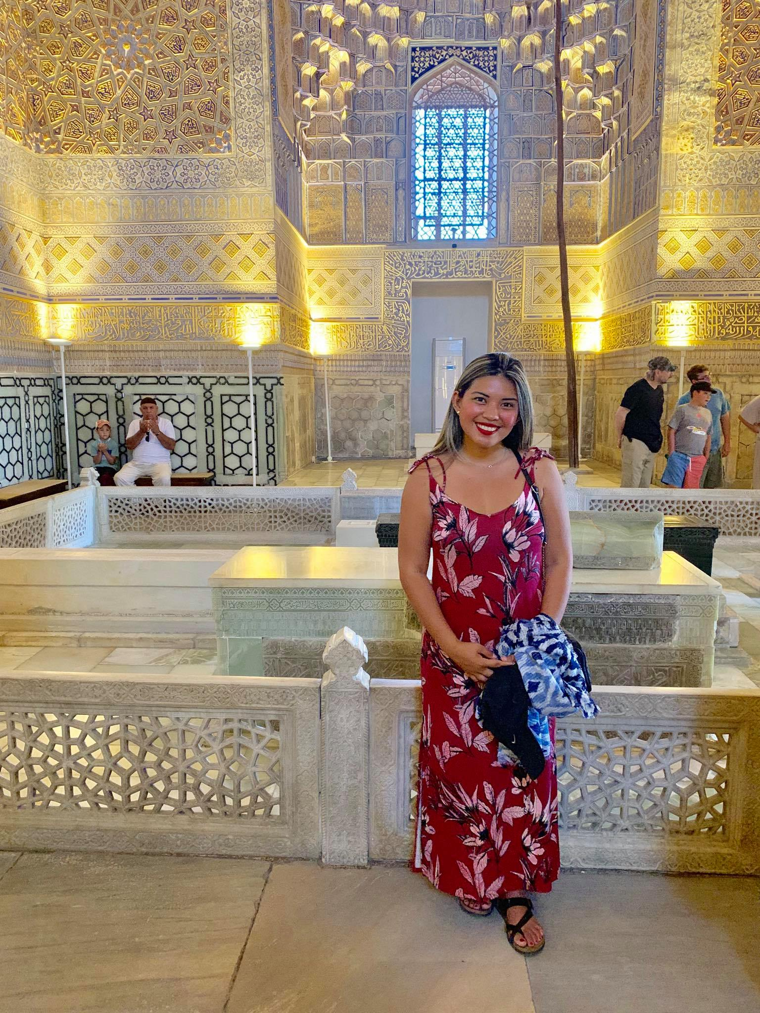 Kach Solo Travels in 2019 Hello from Samarqand  Samarkand in the southeastern part of Uzbekistan4.jpg