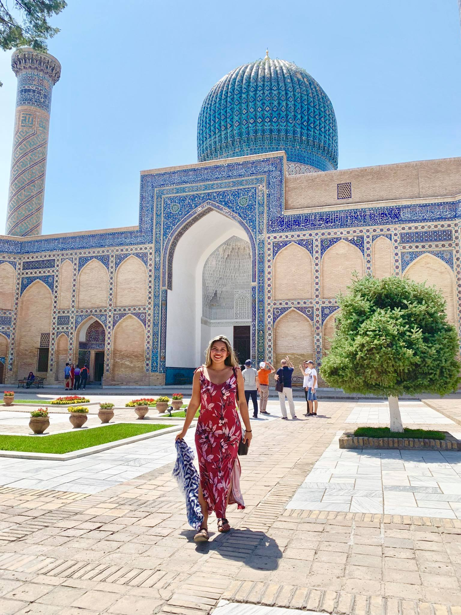 Kach Solo Travels in 2019 Hello from Samarqand  Samarkand in the southeastern part of Uzbekistan7.jpg