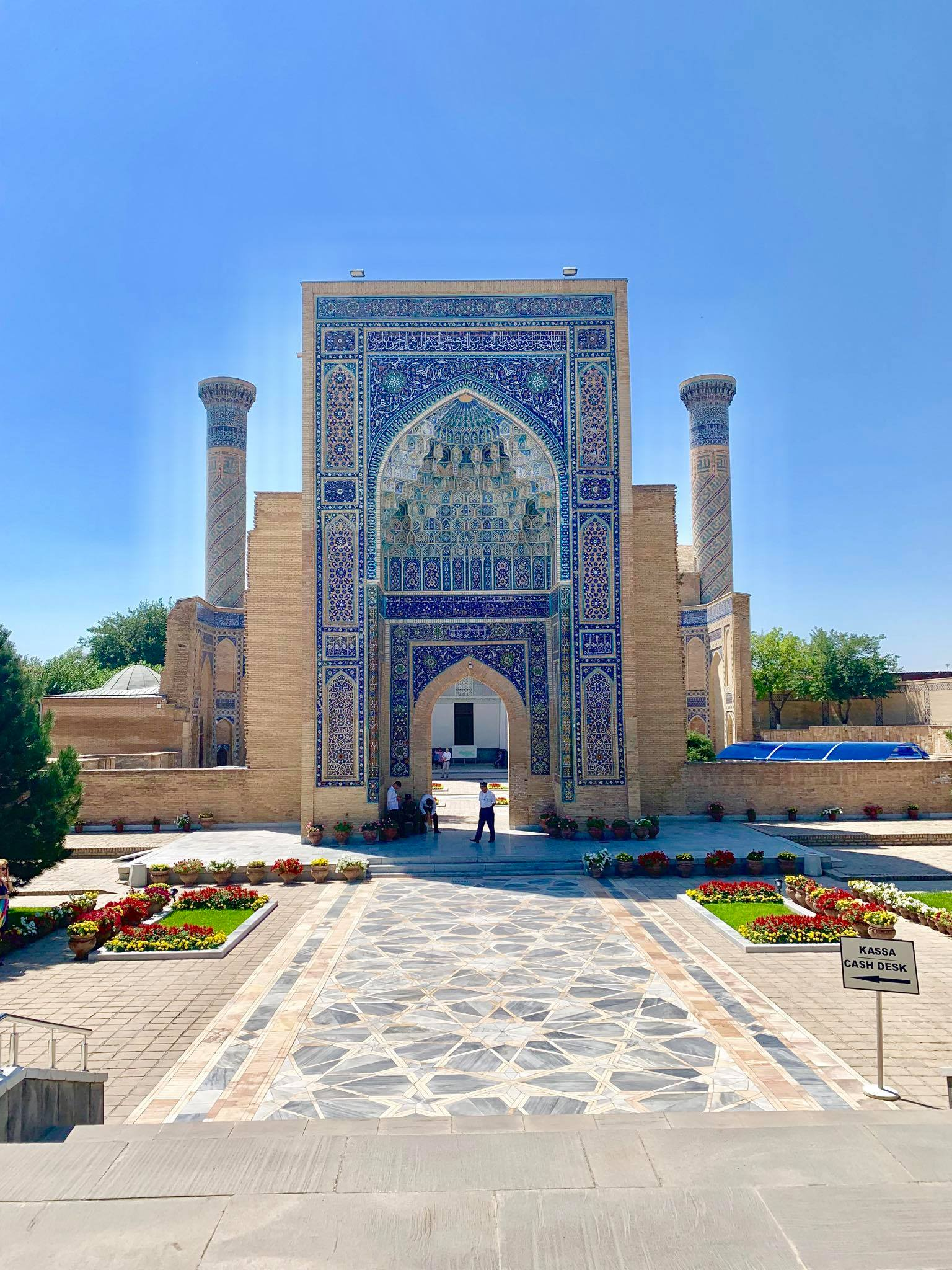 Kach Solo Travels in 2019 Hello from Samarqand  Samarkand in the southeastern part of Uzbekistan8.jpg