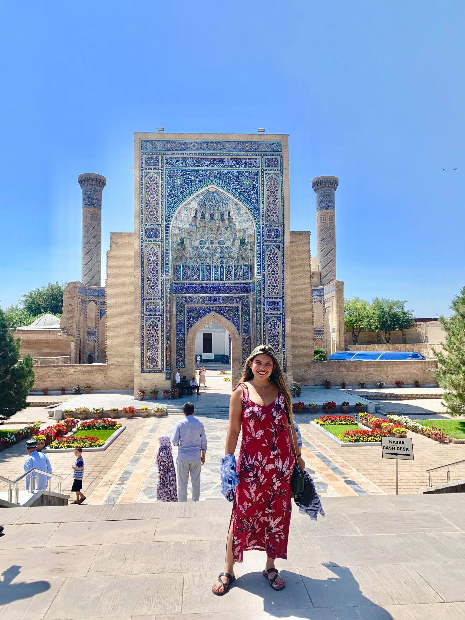 Kach Solo Travels in 2019 Hello from Samarqand  Samarkand in the southeastern part of Uzbekistan10.jpg