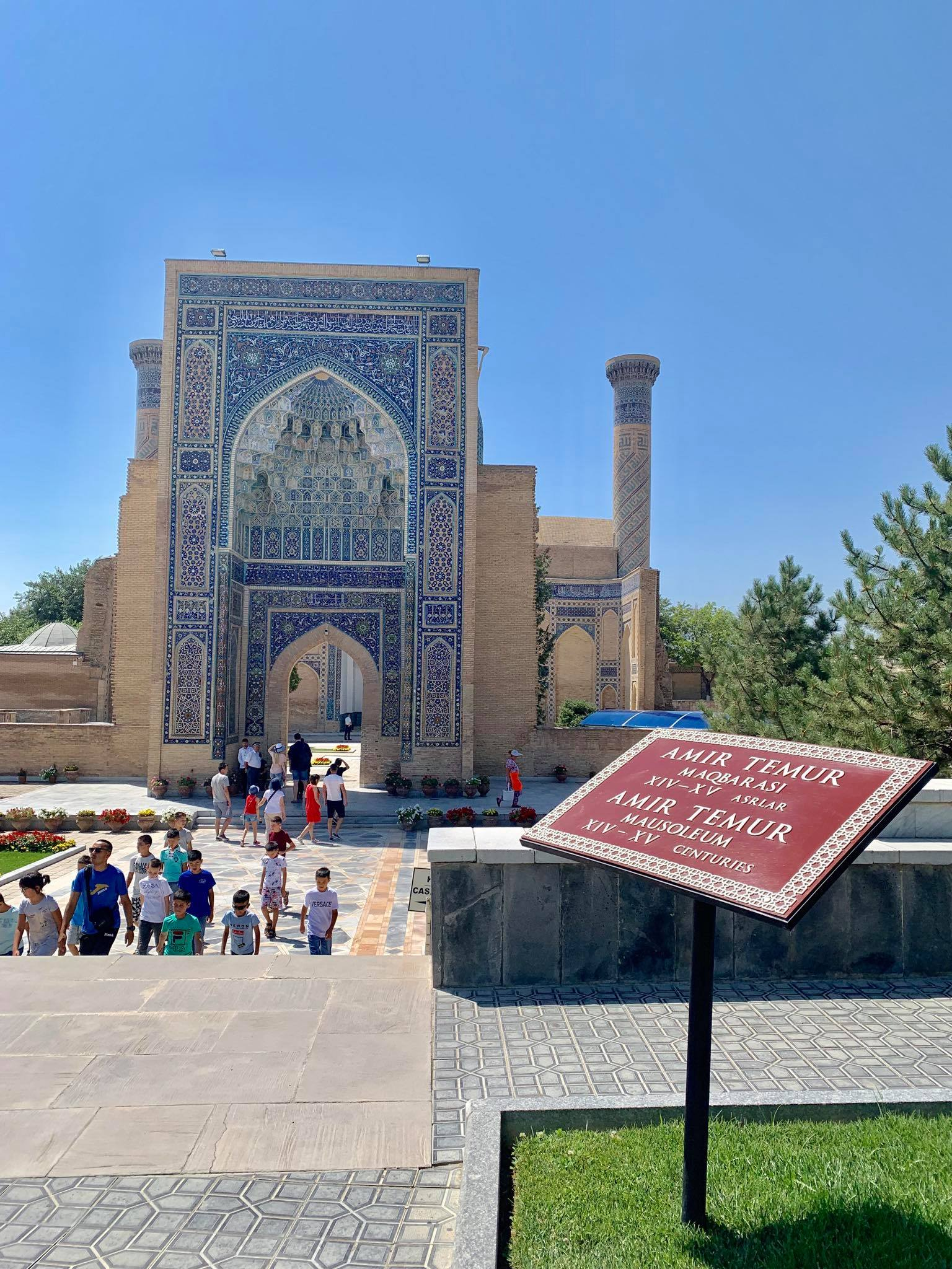Kach Solo Travels in 2019 Hello from Samarqand  Samarkand in the southeastern part of Uzbekistan18.jpg
