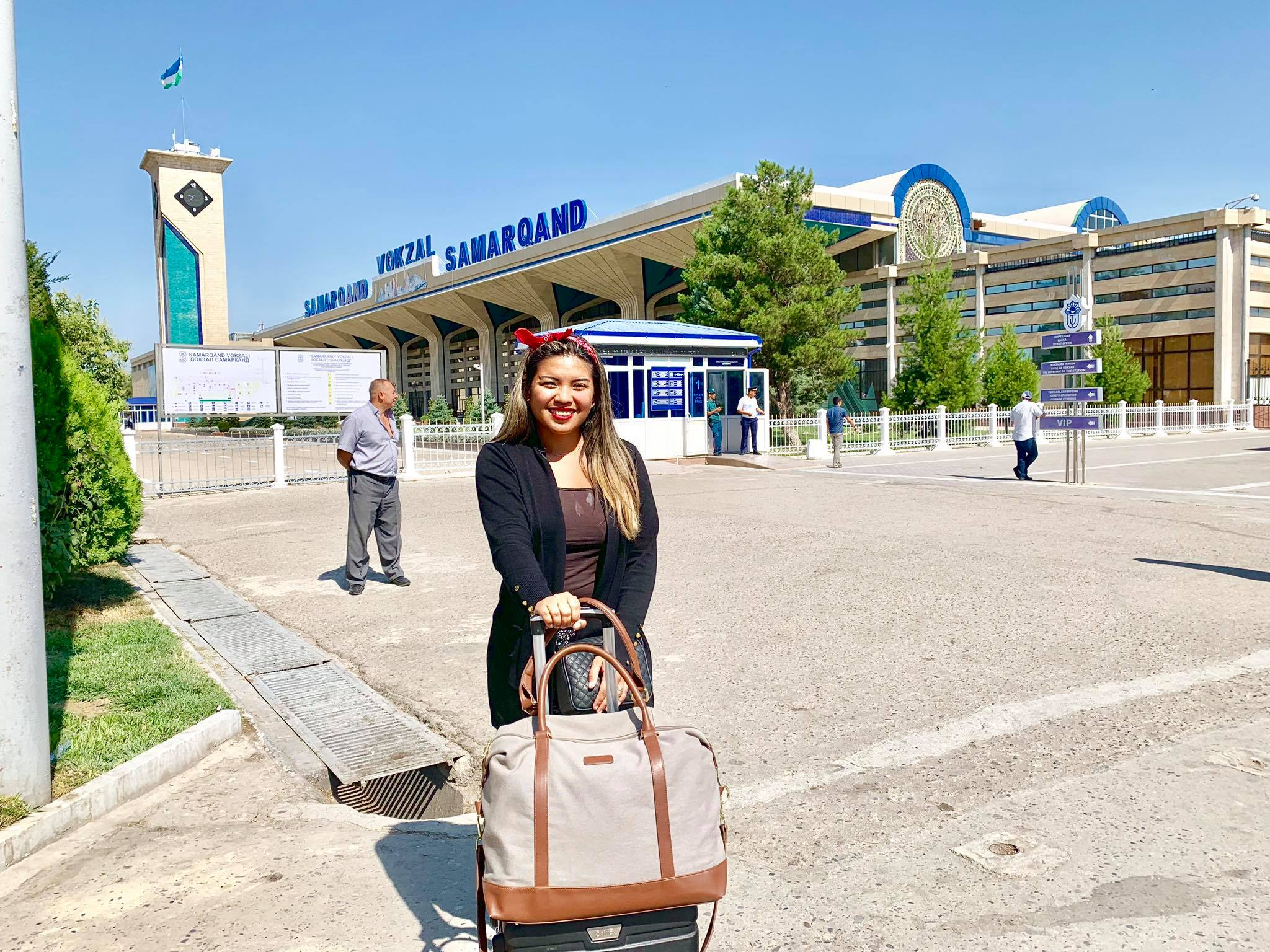 Kach Solo Travels in 2019 Hello from Samarqand  Samarkand in the southeastern part of Uzbekistan25.jpg