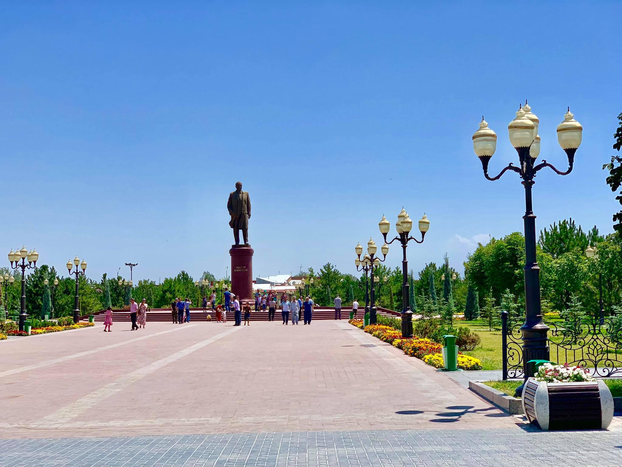 Kach Solo Travels in 2019 Siyab Bazaar and Registan on my first day in Samarkand.jpg