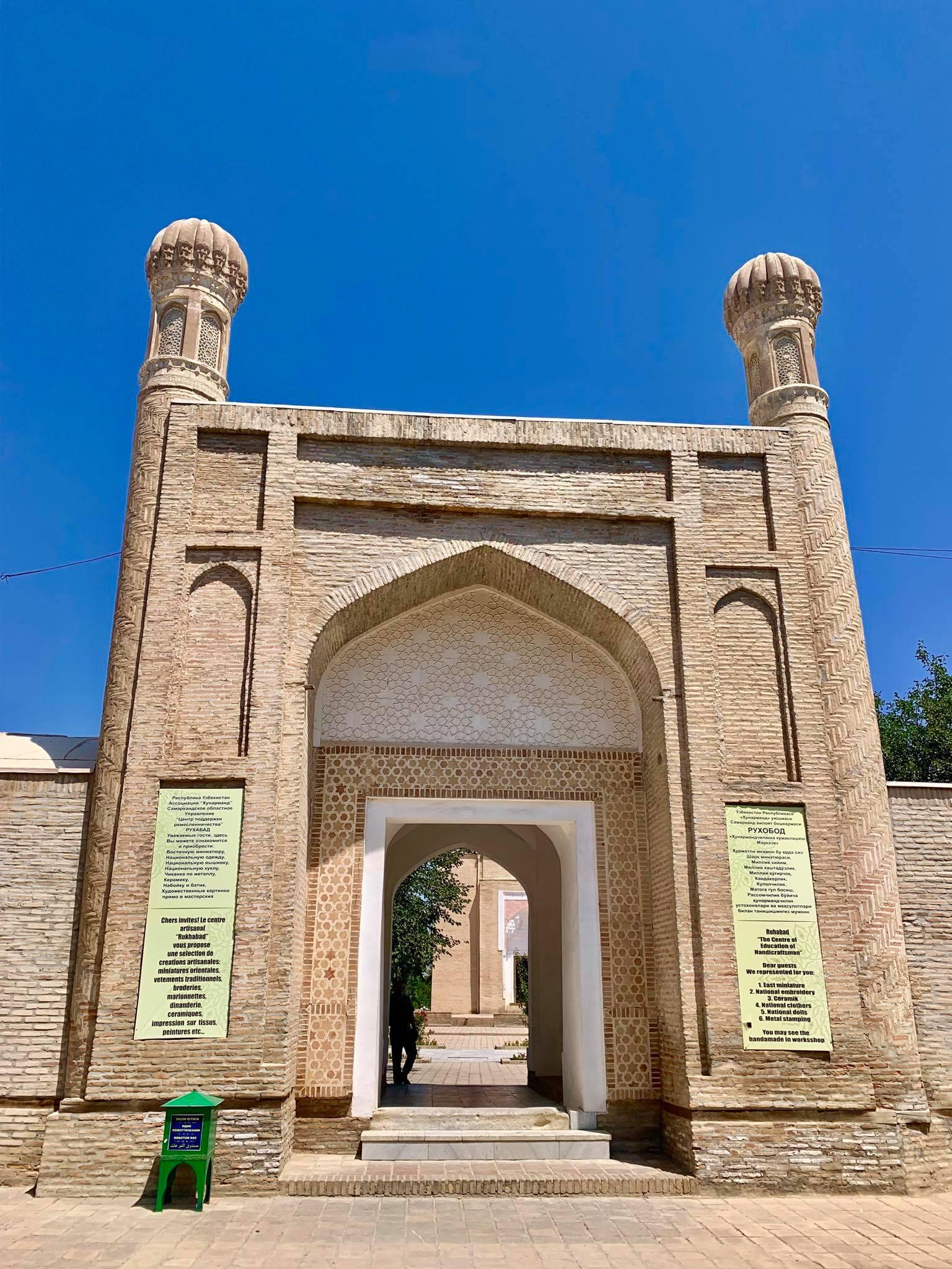 Kach Solo Travels in 2019 Siyab Bazaar and Registan on my first day in Samarkand2.jpg