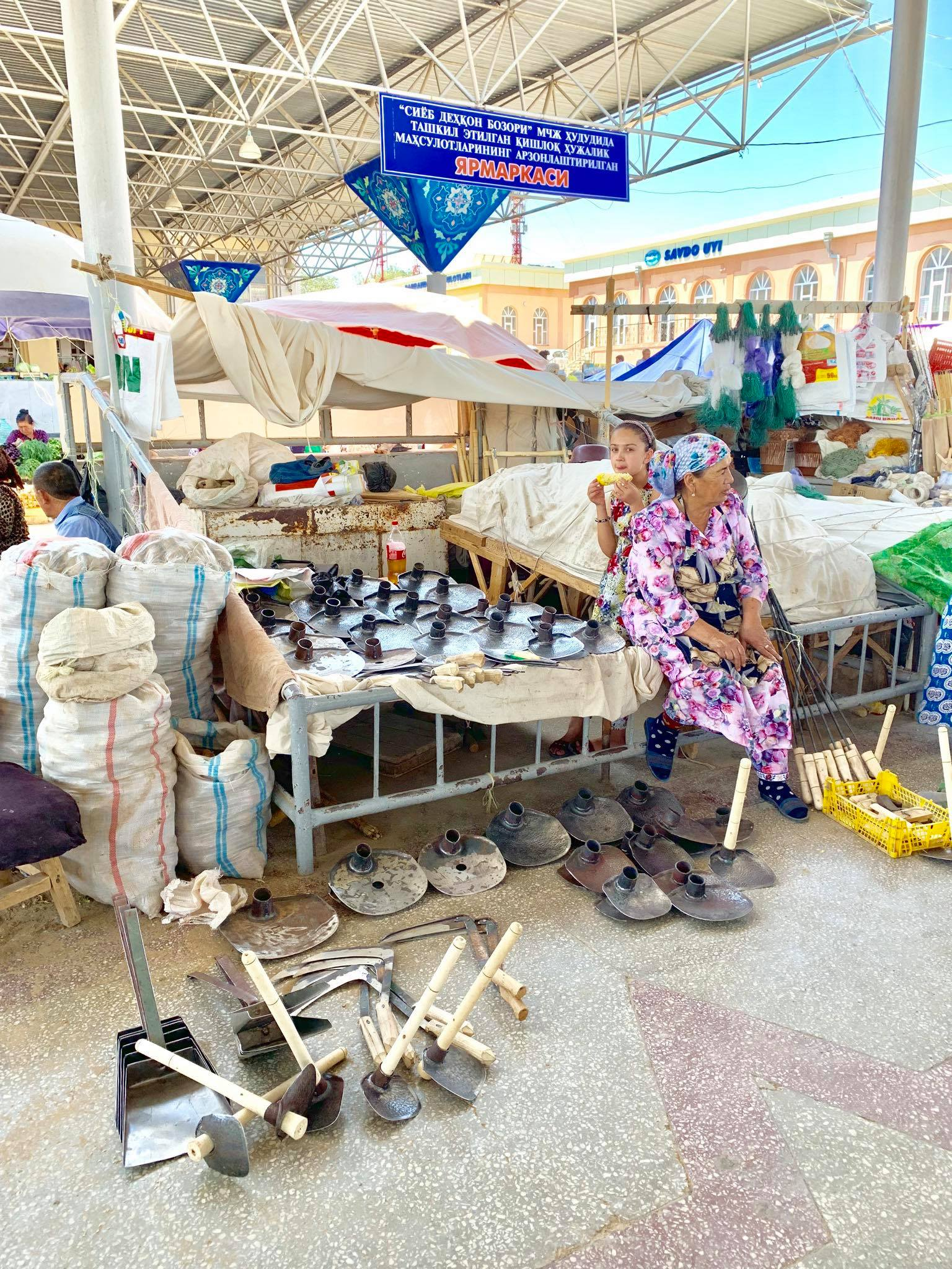 Kach Solo Travels in 2019 Siyab Bazaar and Registan on my first day in Samarkand21.jpg