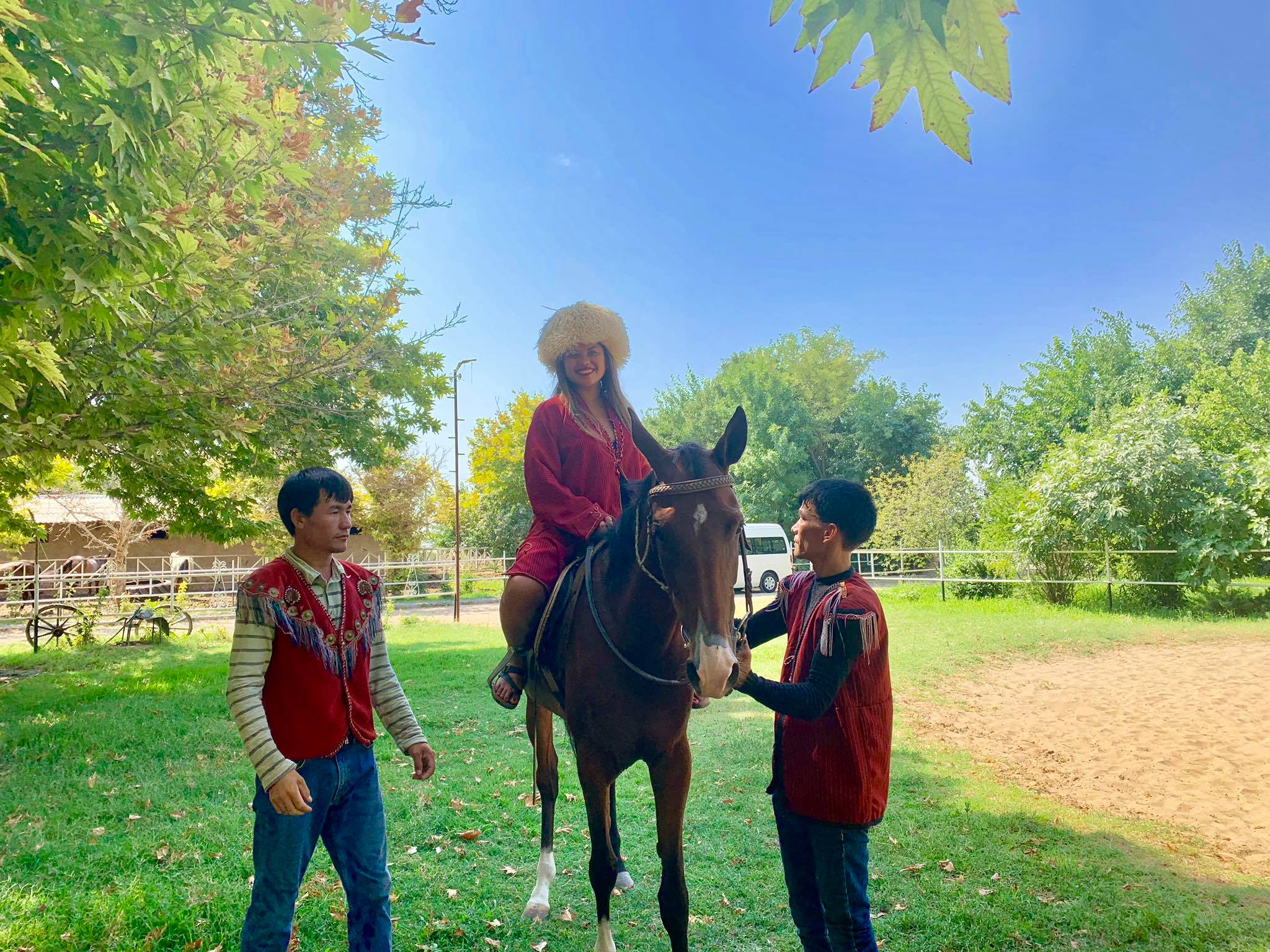 Kach Solo Travels in 2019 Visiting a Horse Farm and attending a wedding party.jpg