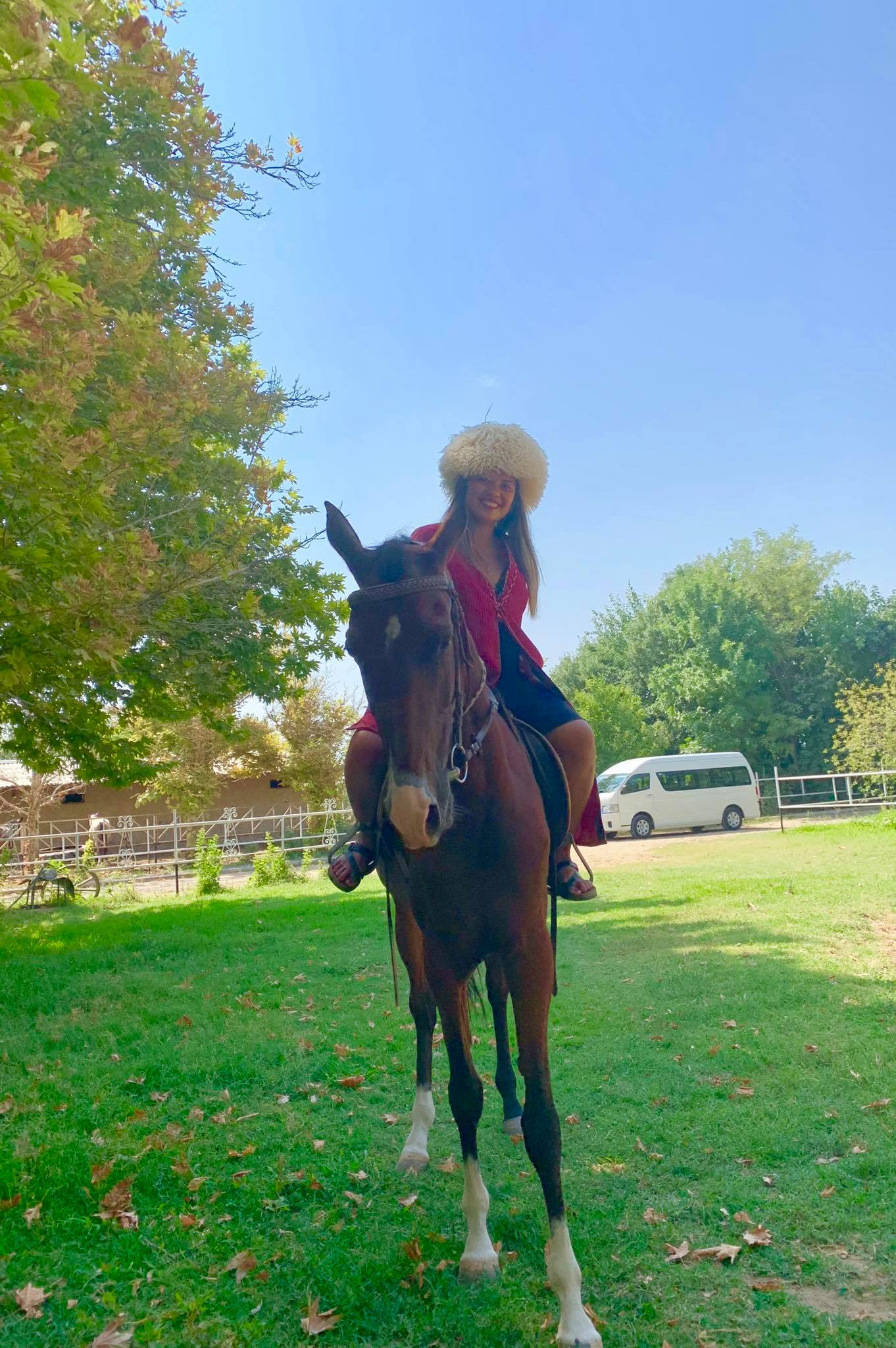 Kach Solo Travels in 2019 Visiting a Horse Farm and attending a wedding party7.jpg
