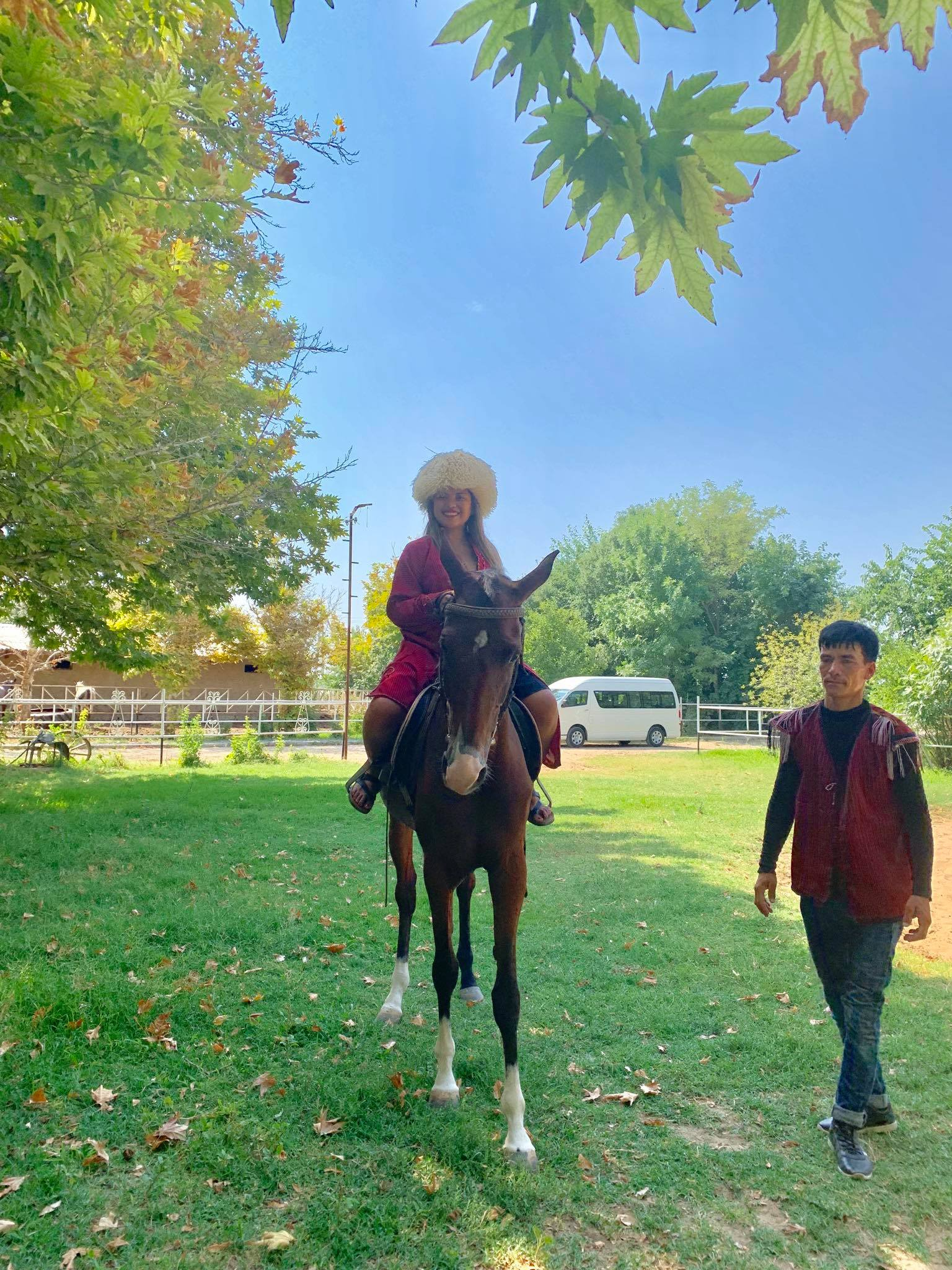 Kach Solo Travels in 2019 Visiting a Horse Farm and attending a wedding party1.jpg