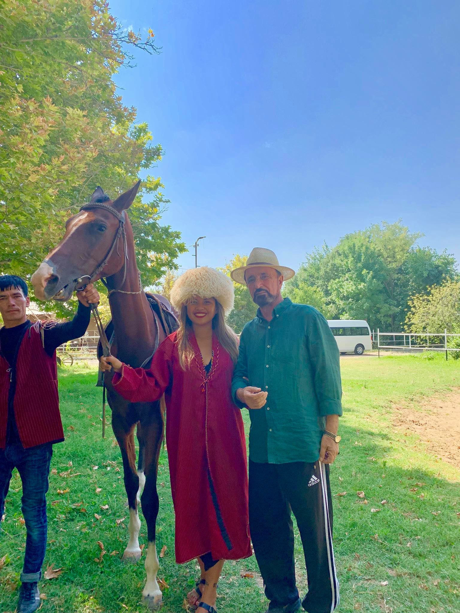 Kach Solo Travels in 2019 Visiting a Horse Farm and attending a wedding party2.jpg