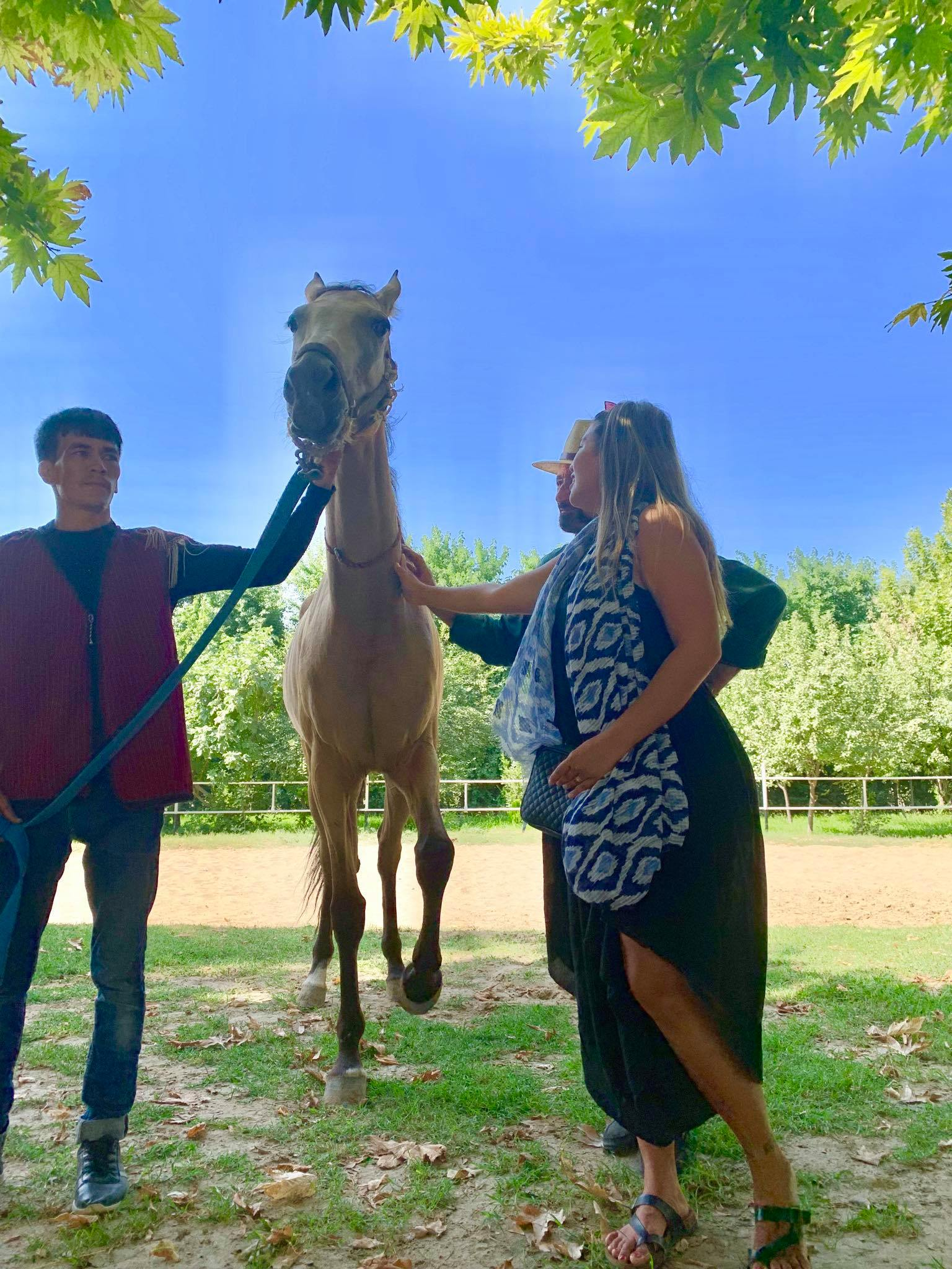 Kach Solo Travels in 2019 Visiting a Horse Farm and attending a wedding party4.jpg