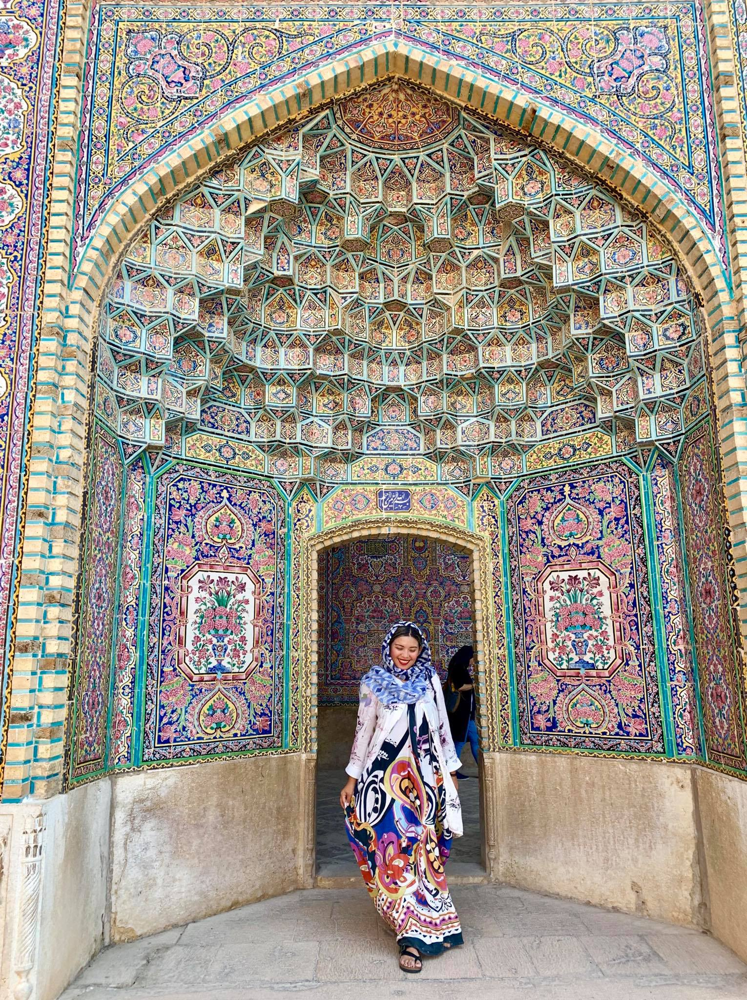 Kach Solo Travels in 2019: Good morning from SHIRAZ, IRAN!