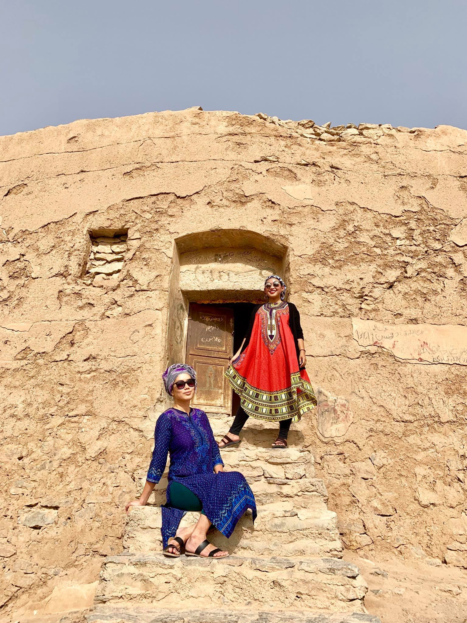 Kach Solo Travels in 2019 Pictorial today at Temple of Silence in Yazd1.jpg