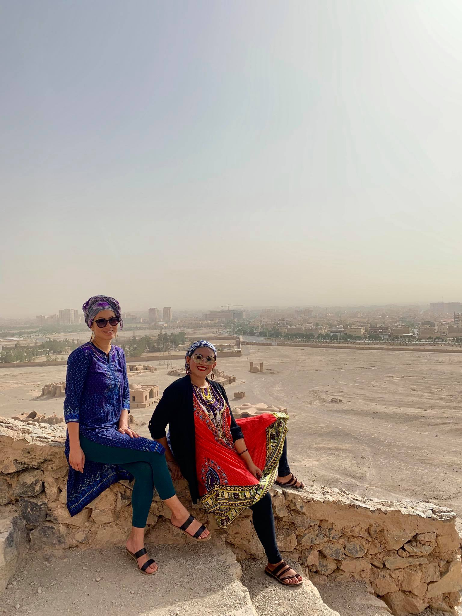 Kach Solo Travels in 2019 Pictorial today at Temple of Silence in Yazd3.jpg