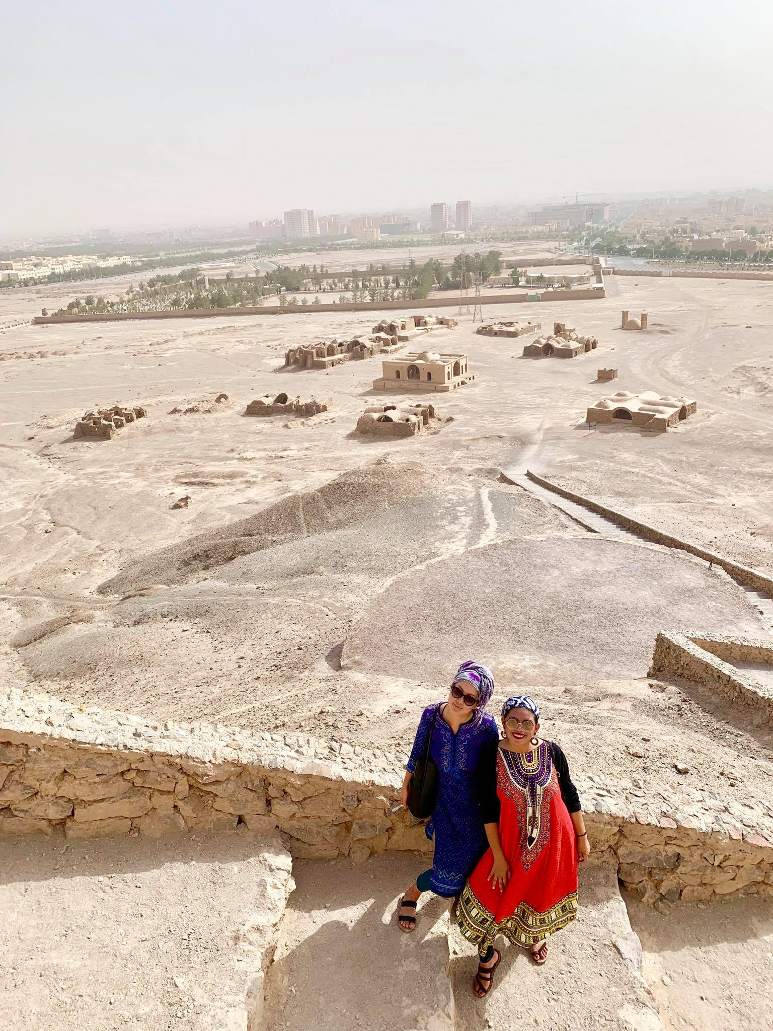 Kach Solo Travels in 2019 Pictorial today at Temple of Silence in Yazd4.jpg