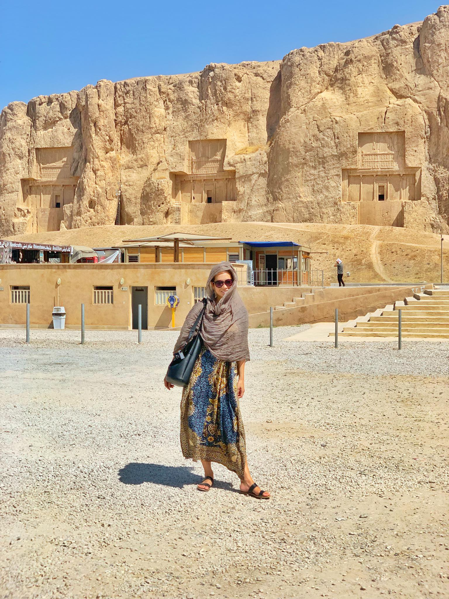 Kach Solo Travels in 2019 UNESCO heritages sites of Persepolis and Pasagardae2.jpg