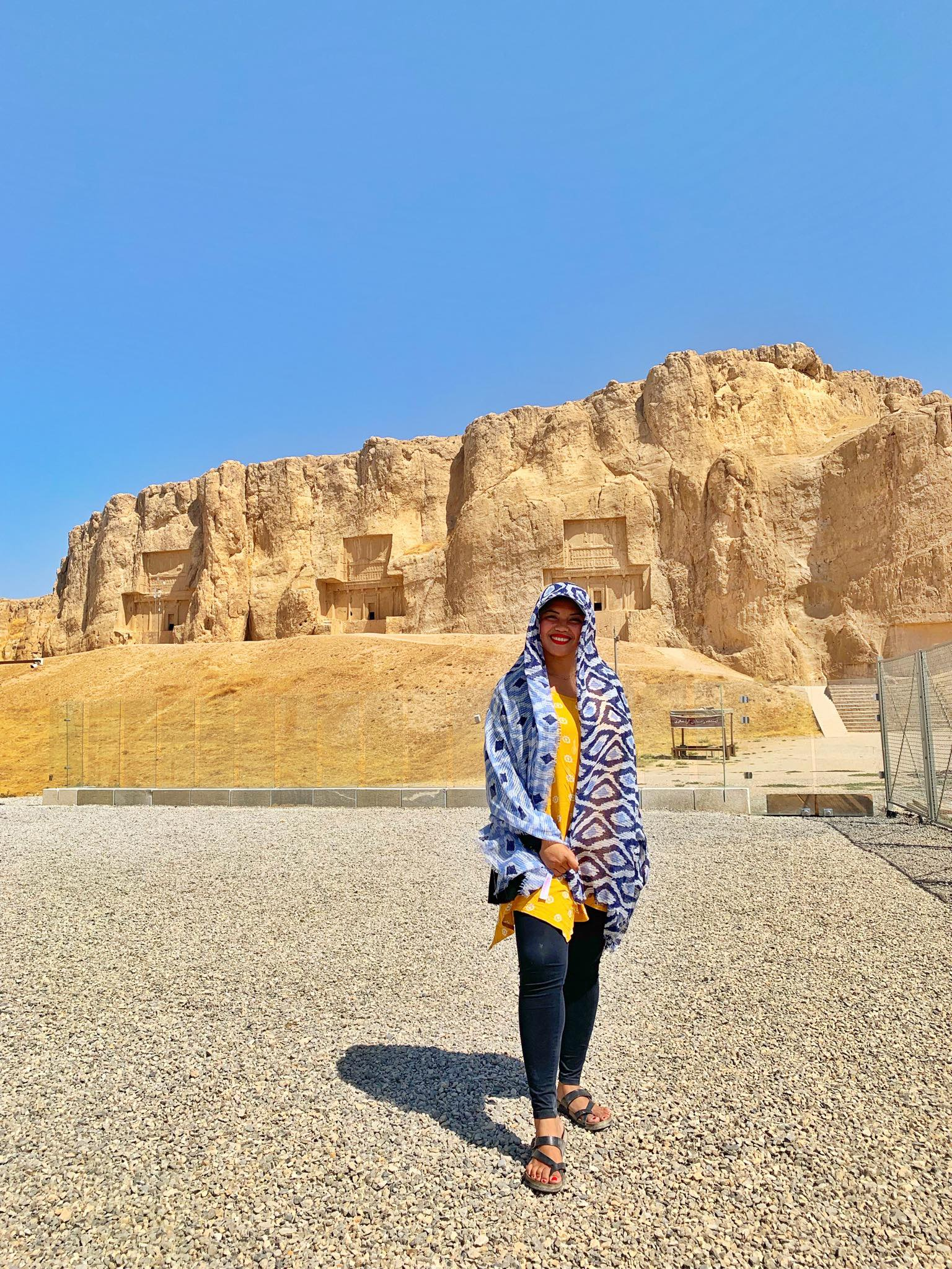 Kach Solo Travels in 2019 UNESCO heritages sites of Persepolis and Pasagardae1.jpg