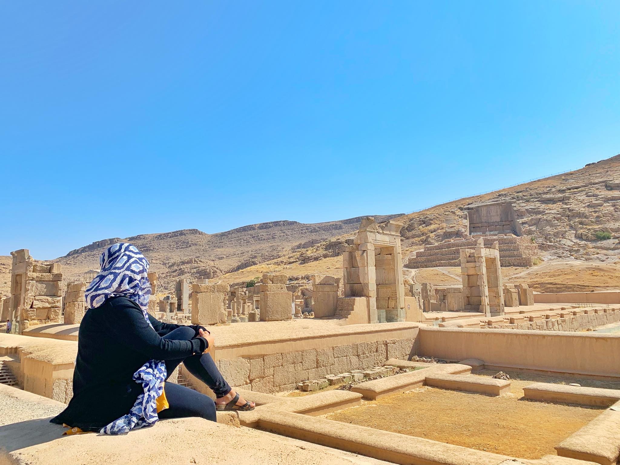 Kach Solo Travels in 2019 UNESCO heritages sites of Persepolis and Pasagardae12.jpg
