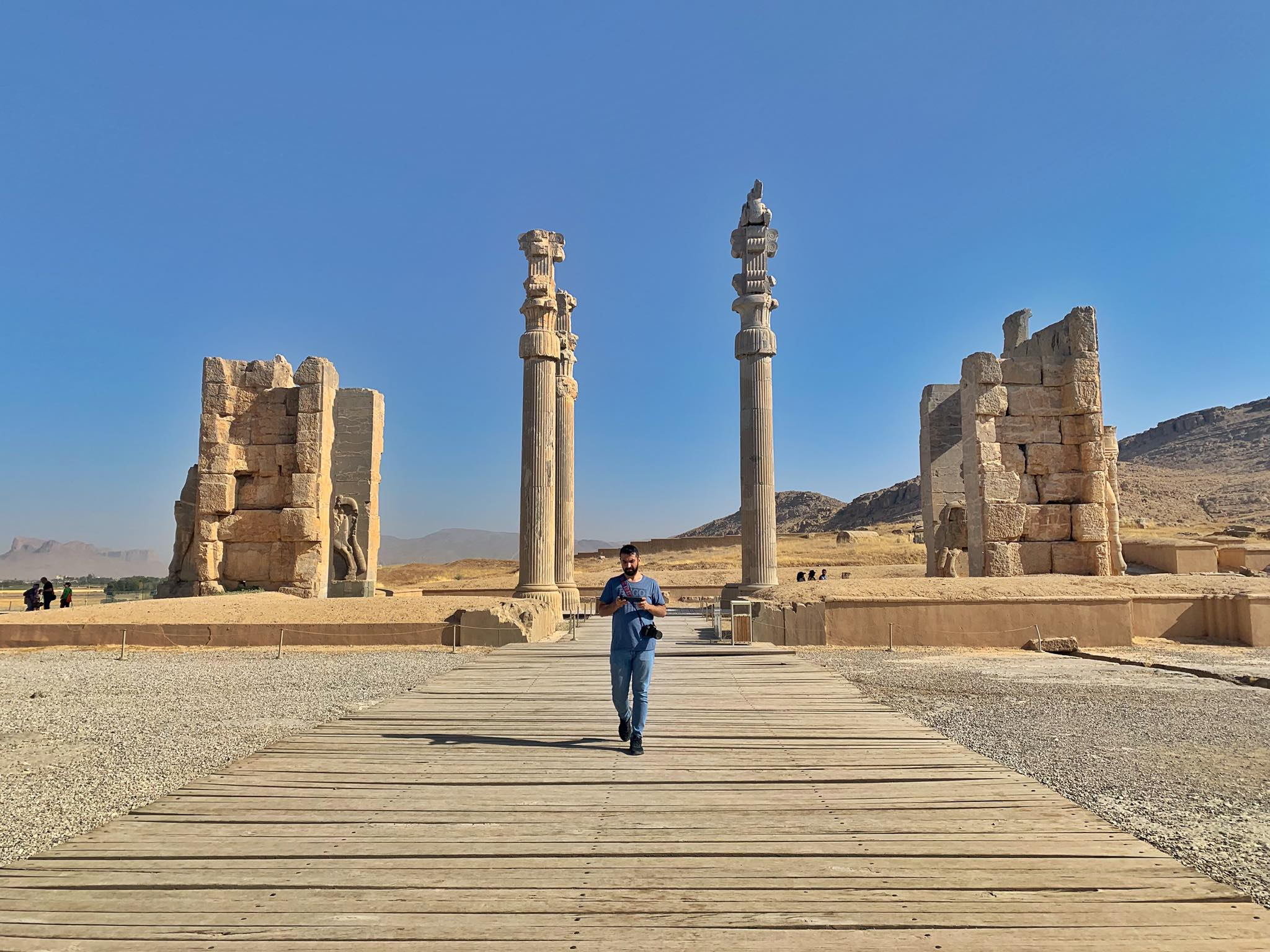 Kach Solo Travels in 2019 UNESCO heritages sites of Persepolis and Pasagardae15.jpg