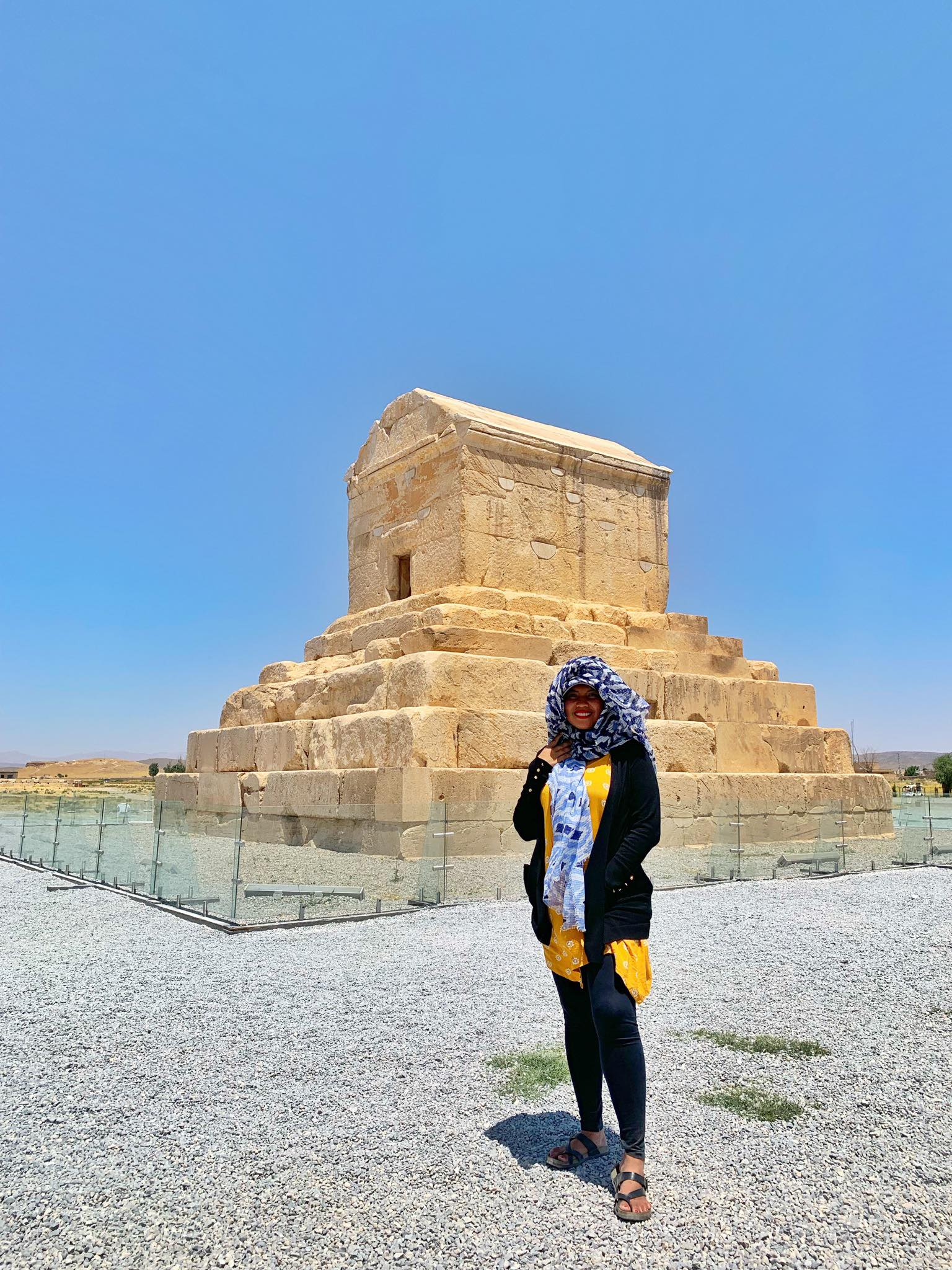 Kach Solo Travels in 2019 UNESCO heritages sites of Persepolis and Pasagardae19.jpg