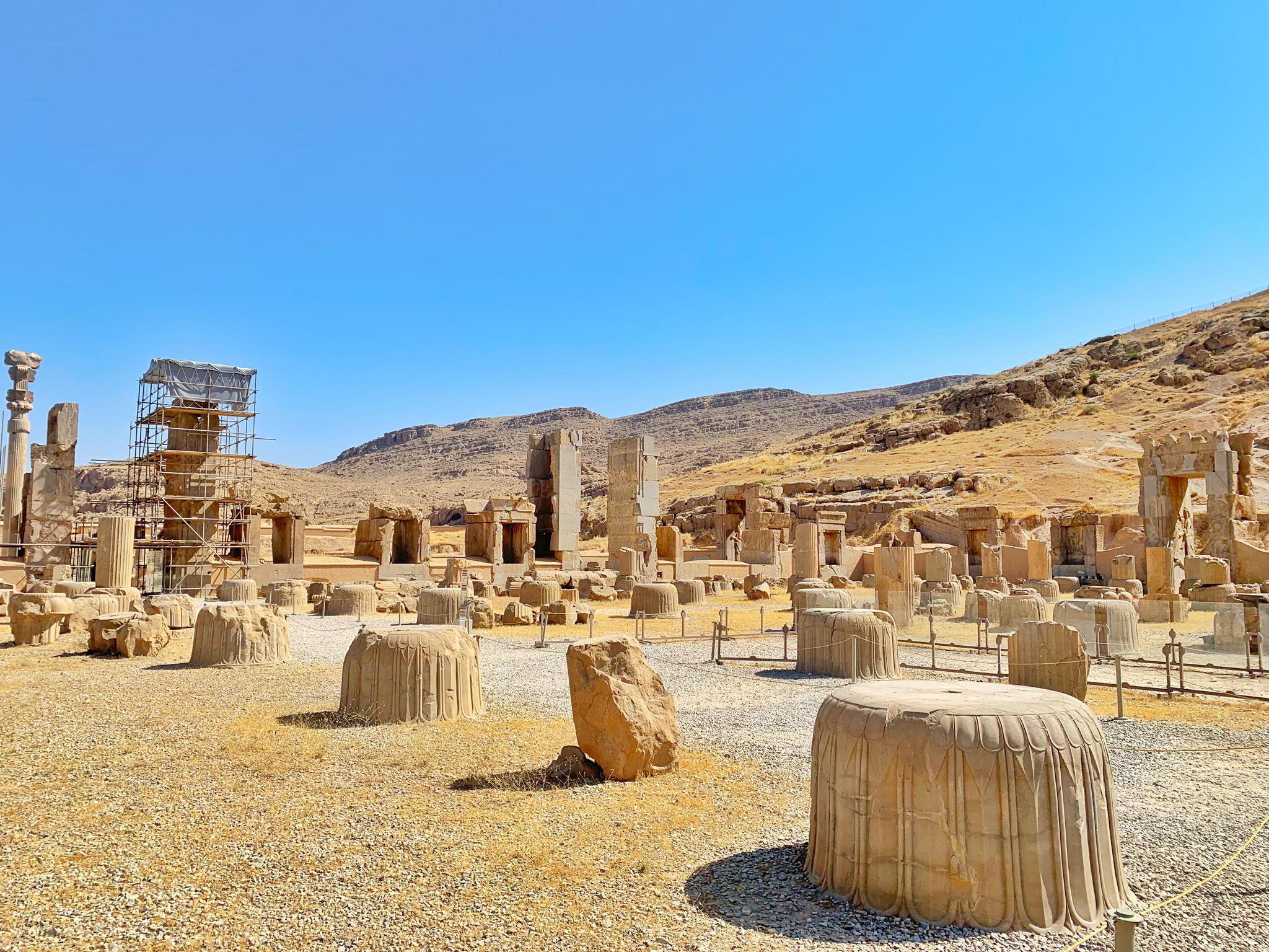 Kach Solo Travels in 2019 UNESCO heritages sites of Persepolis and Pasagardae20.jpg