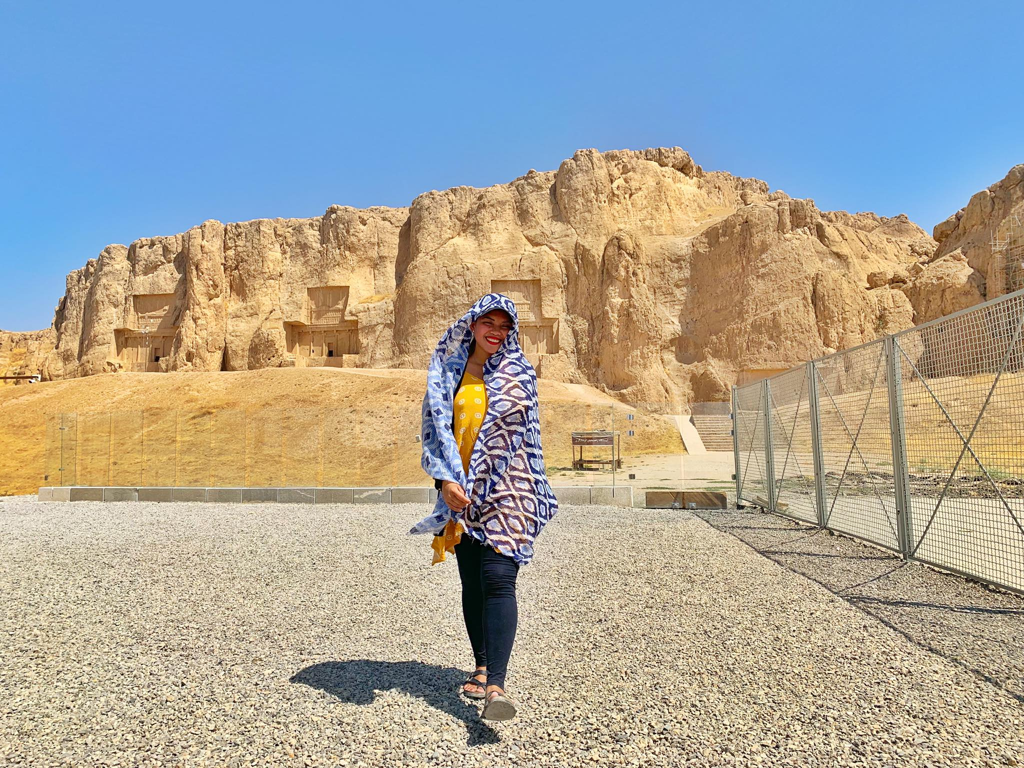 Kach Solo Travels in 2019 UNESCO heritages sites of Persepolis and Pasagardae.jpg
