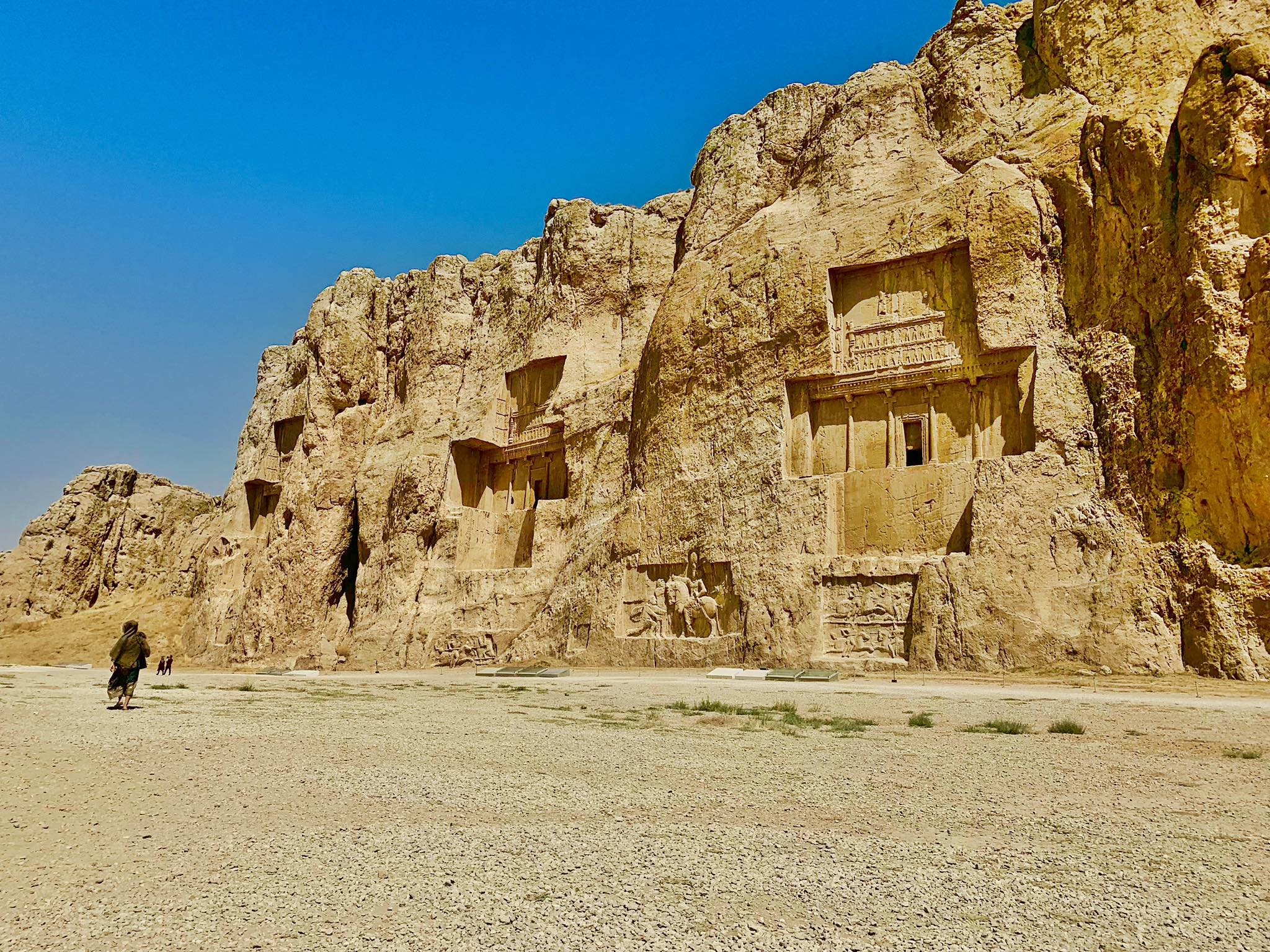 Kach Solo Travels in 2019 UNESCO heritages sites of Persepolis and Pasagardae3.jpg