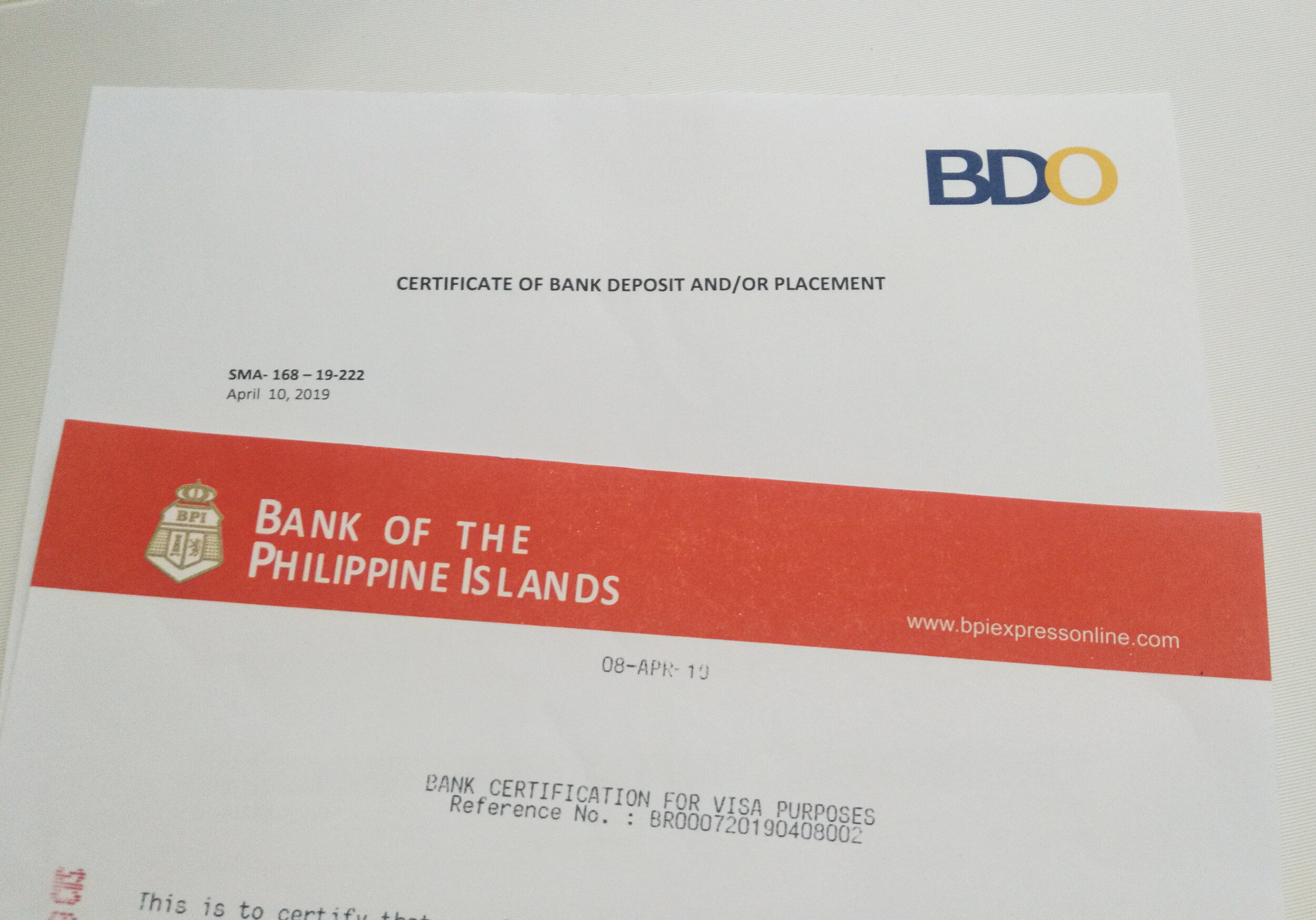 Bank Certificates Vs Bank Statements How To Get Documents In The