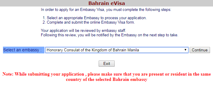 How To Get A Bahrain Tourist Visa With Your Philippines Passport