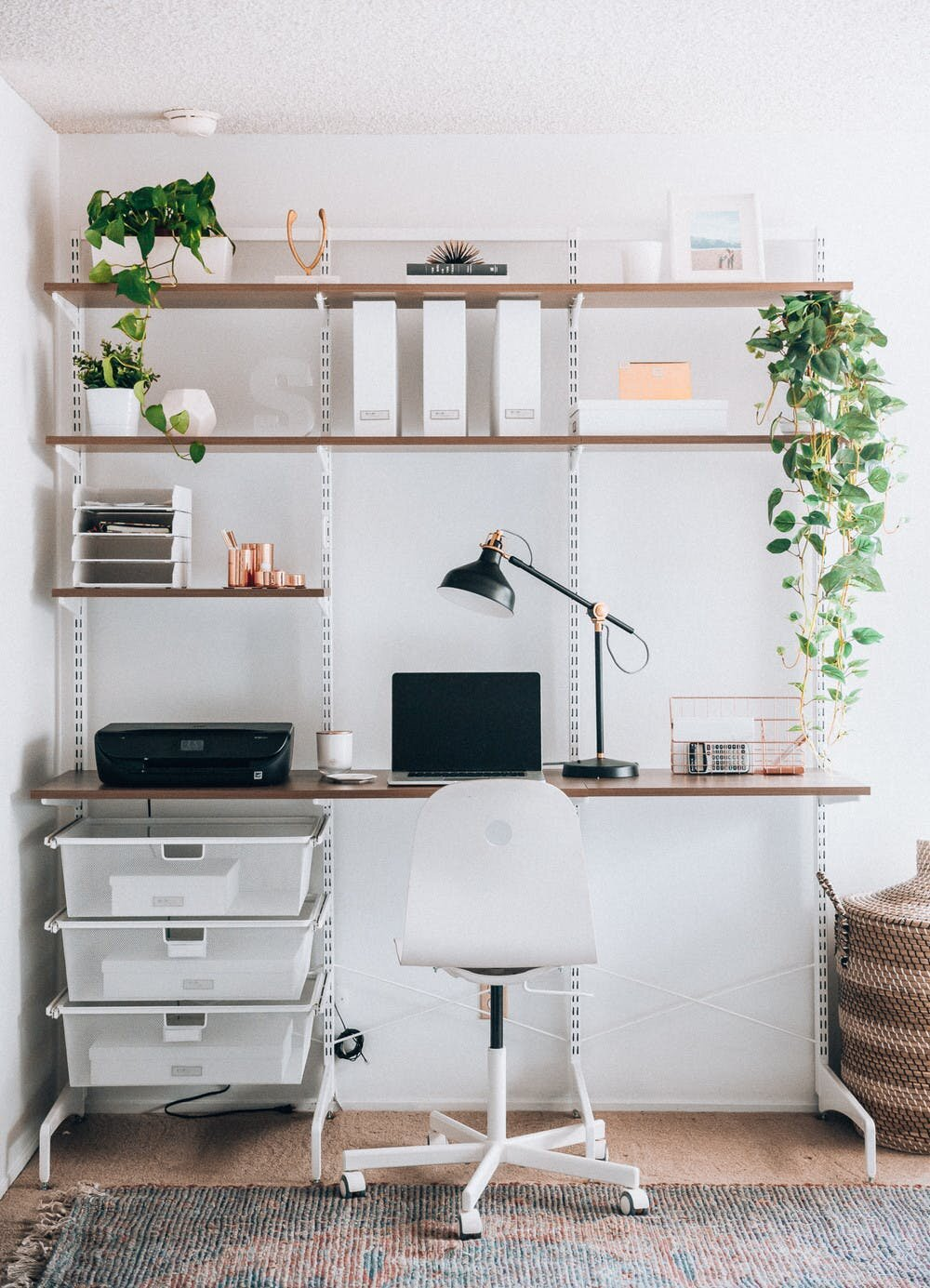 My Small Home Office Design Ideas with Decor Photos [Montenegro