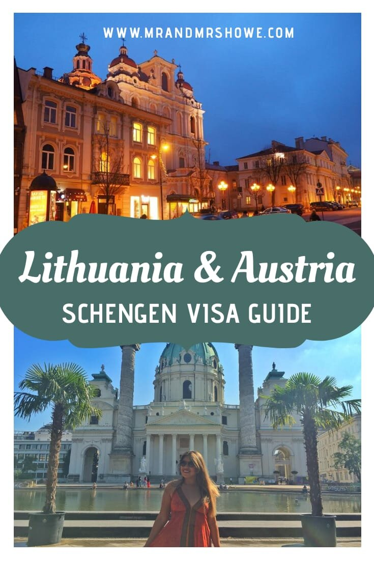 How To Apply For Austria And Lithuania Schengen Visa With Your Philippines Passport