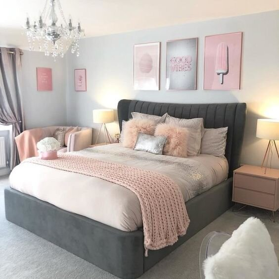 Best Pink Rooms Interior Inspiration Gorgeous Room Decor Ideas