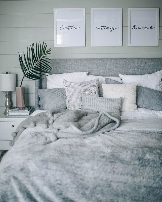 Best Gray Bedroom Ideas And Design Inspiration Montenegro Stone House Renovation Vision Board