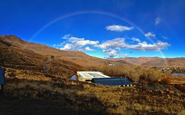 Rainbow over Maplewood