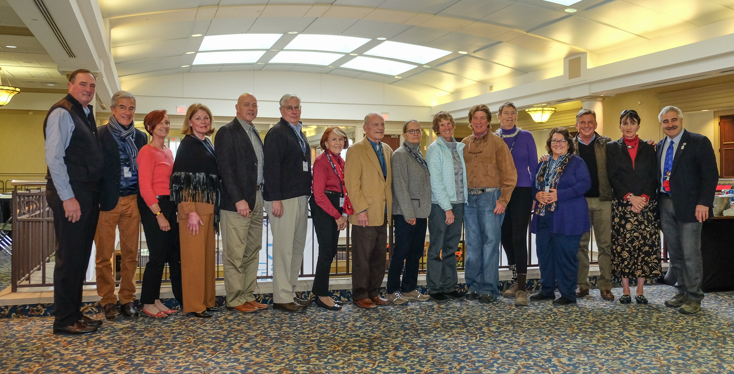 Me with the USEF Licensed Officials Committee