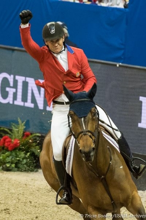World Cup Champions McLain Ward and HH Azur