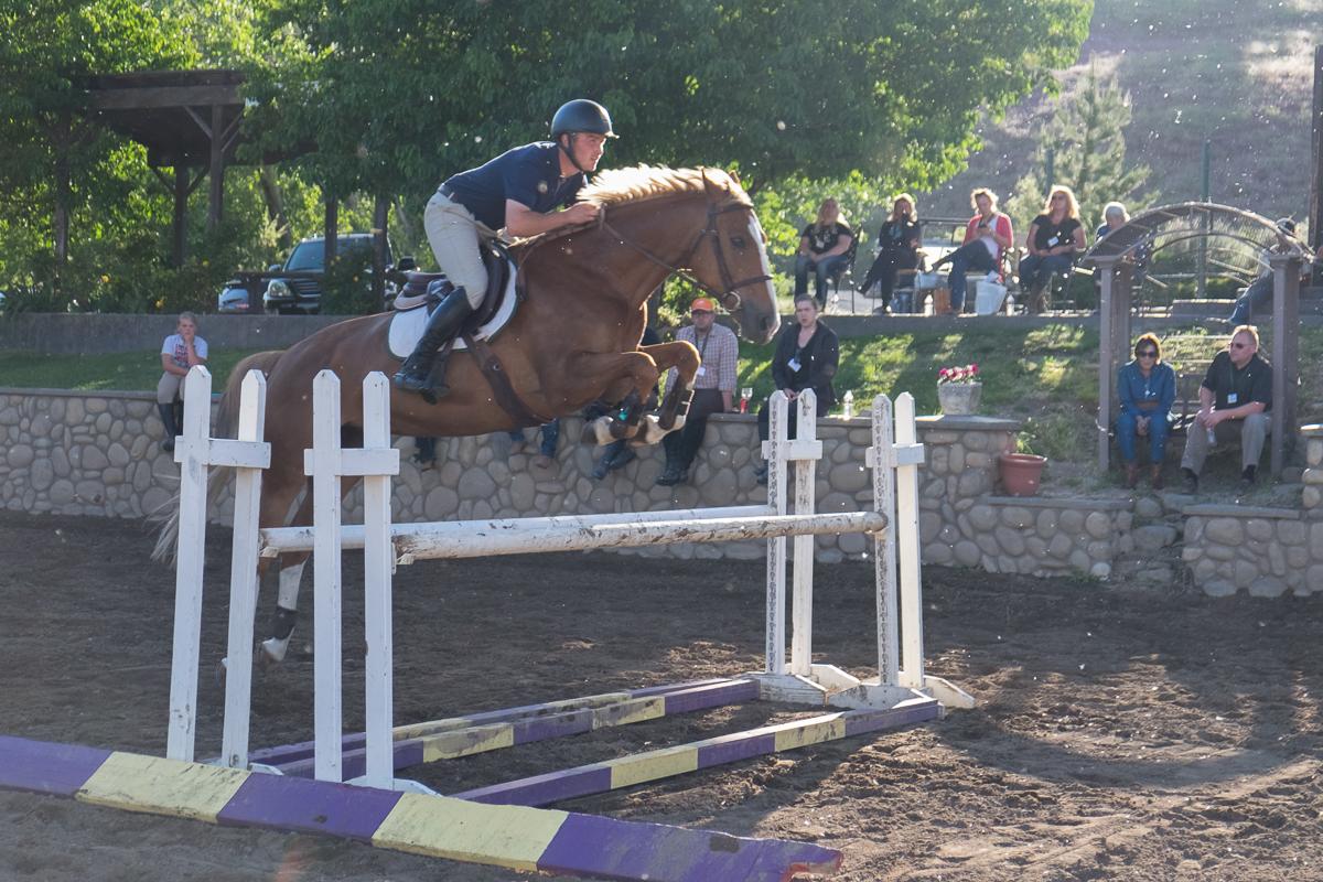 Show Jumping Demonstration with Kevin Winkel