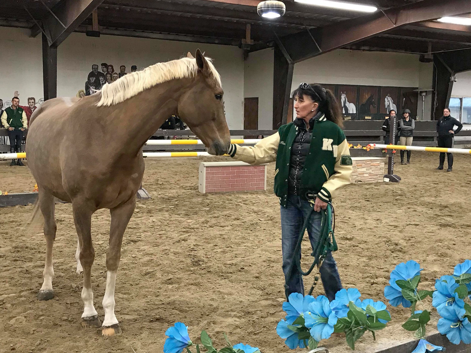 Julie Winkel explains how to read a horse's body language and to safely approach and confidently halter a horse.