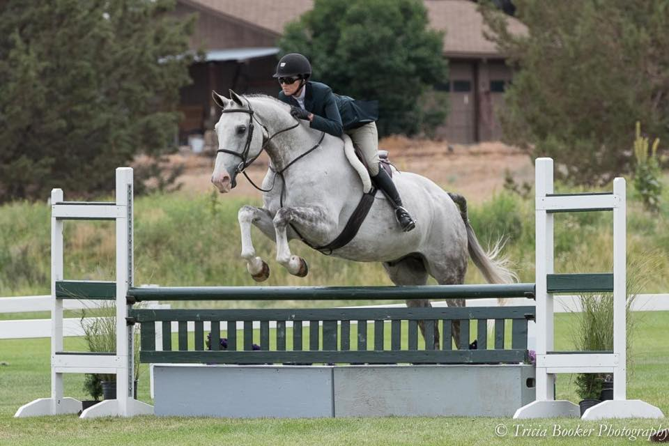 Julie Winkel and Amarone at the Oregon High Desert Classic