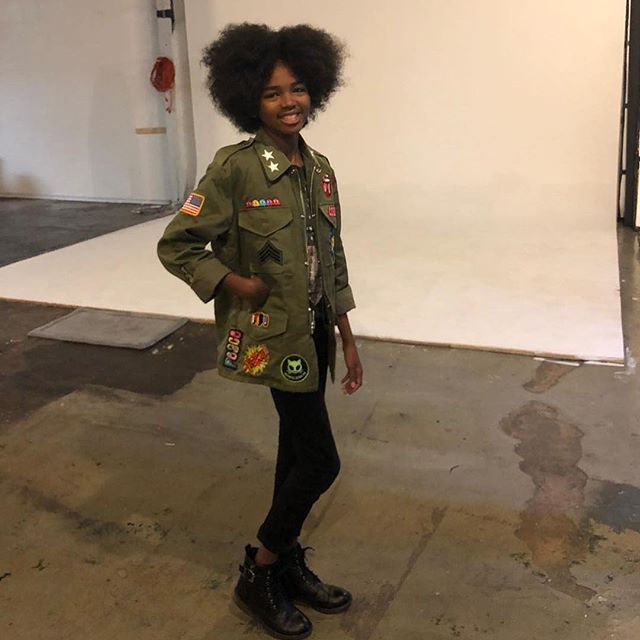 ✨💥🔥The talented @theoriginalmadij on set! 🔥💥✨ 🌟🌟 THE POP UP 🌟🌟 Never before in stores! Cult de Jour jackets available @nordstromthegrove 189 The Grove Drive, Los Angeles, California 90036. February 16th 18th ALL STAR WEEKEND ONLY. 12P - 5P . First come first serve. Each jacket is unique! Come and get your life!!! #cultdejour #militaryjacket #cultkids #nyfw2018